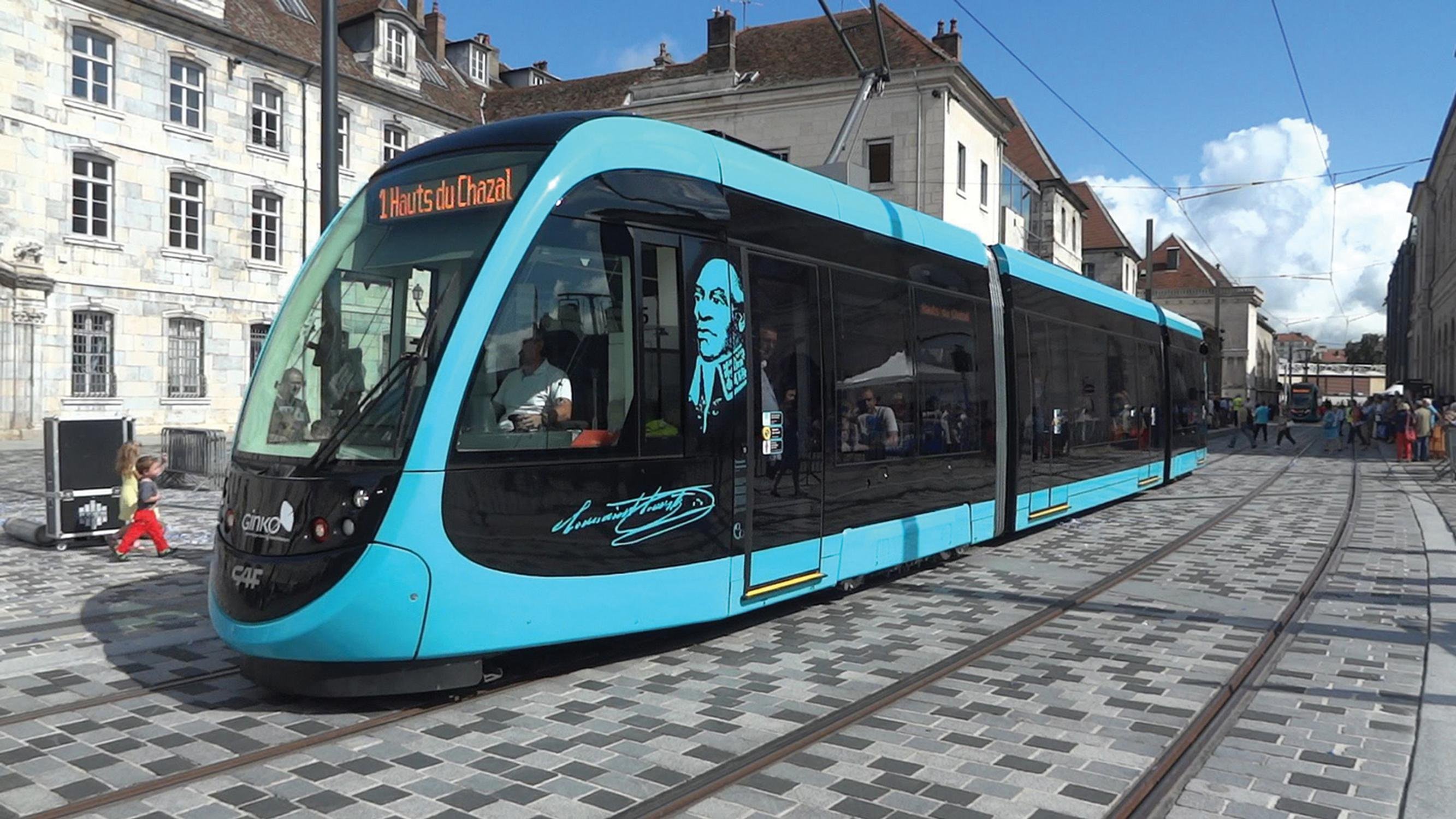 French cities such as Besançon have built tramways, so there's no reason why Bath couldn't support a system too, says Andrew Braddock