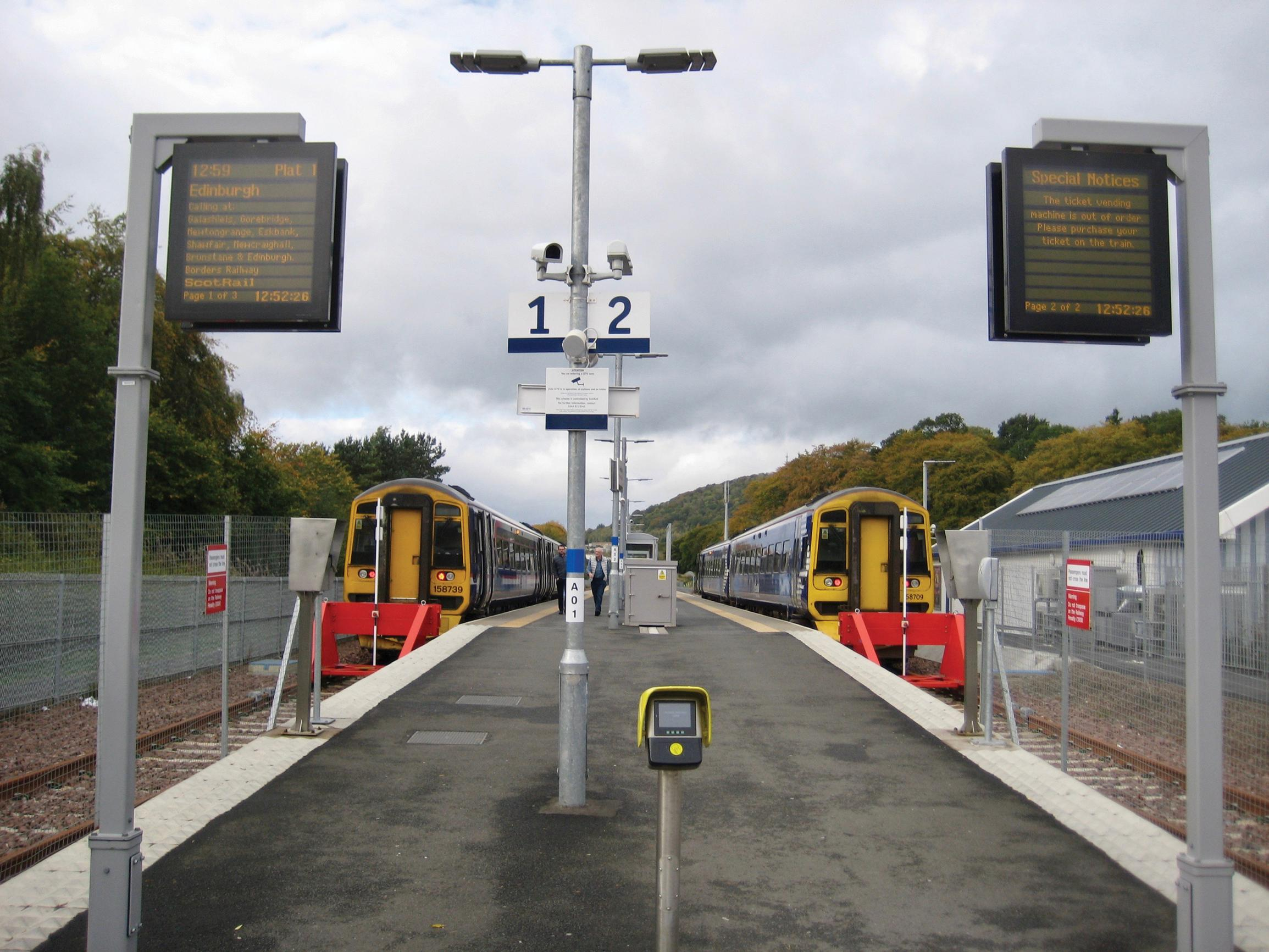 Borders: rail improvements?