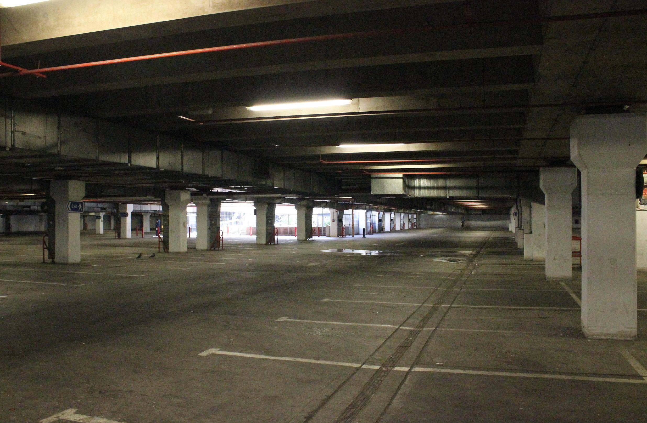 Inside the Rhyl Undergound Car Park (Jeff Buck/Geograph)