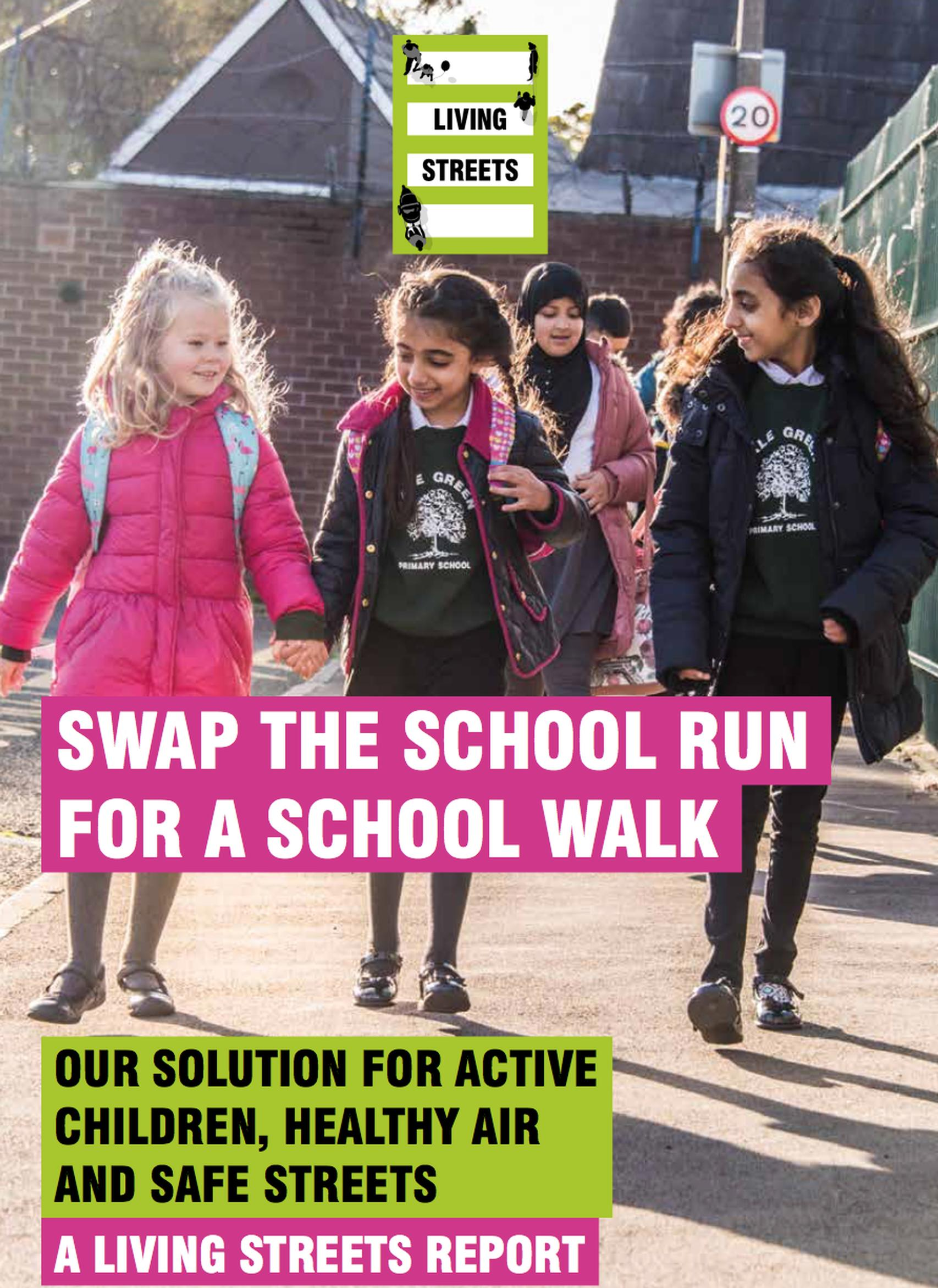 Swap the school run for a school walk,