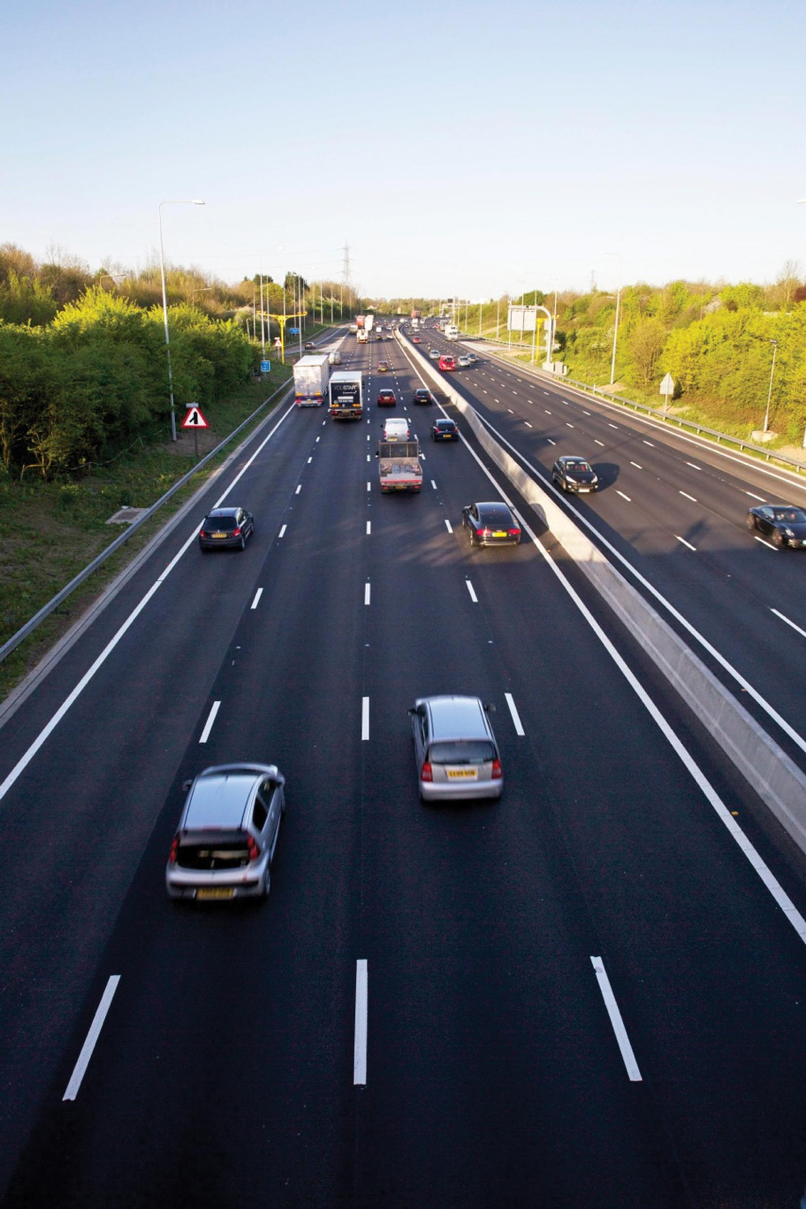 All-lane running on the M25: the DfT is reviewing the evidence on new road capacity and traffic levels
