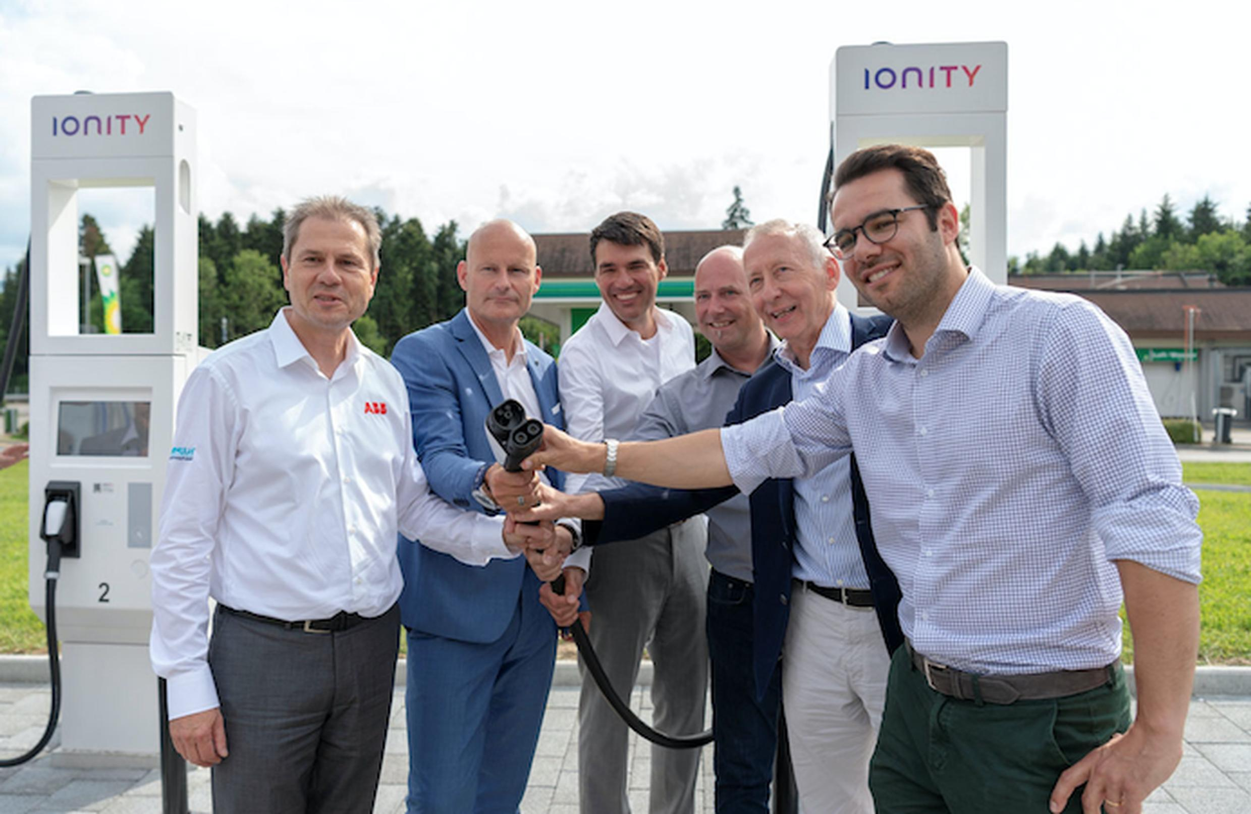 IONITY network opens first EV service station in Switzerland