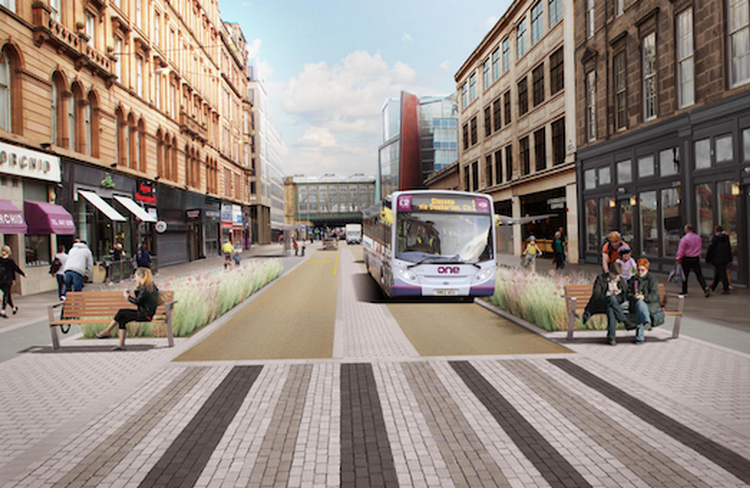 How the Argylle Street area could look