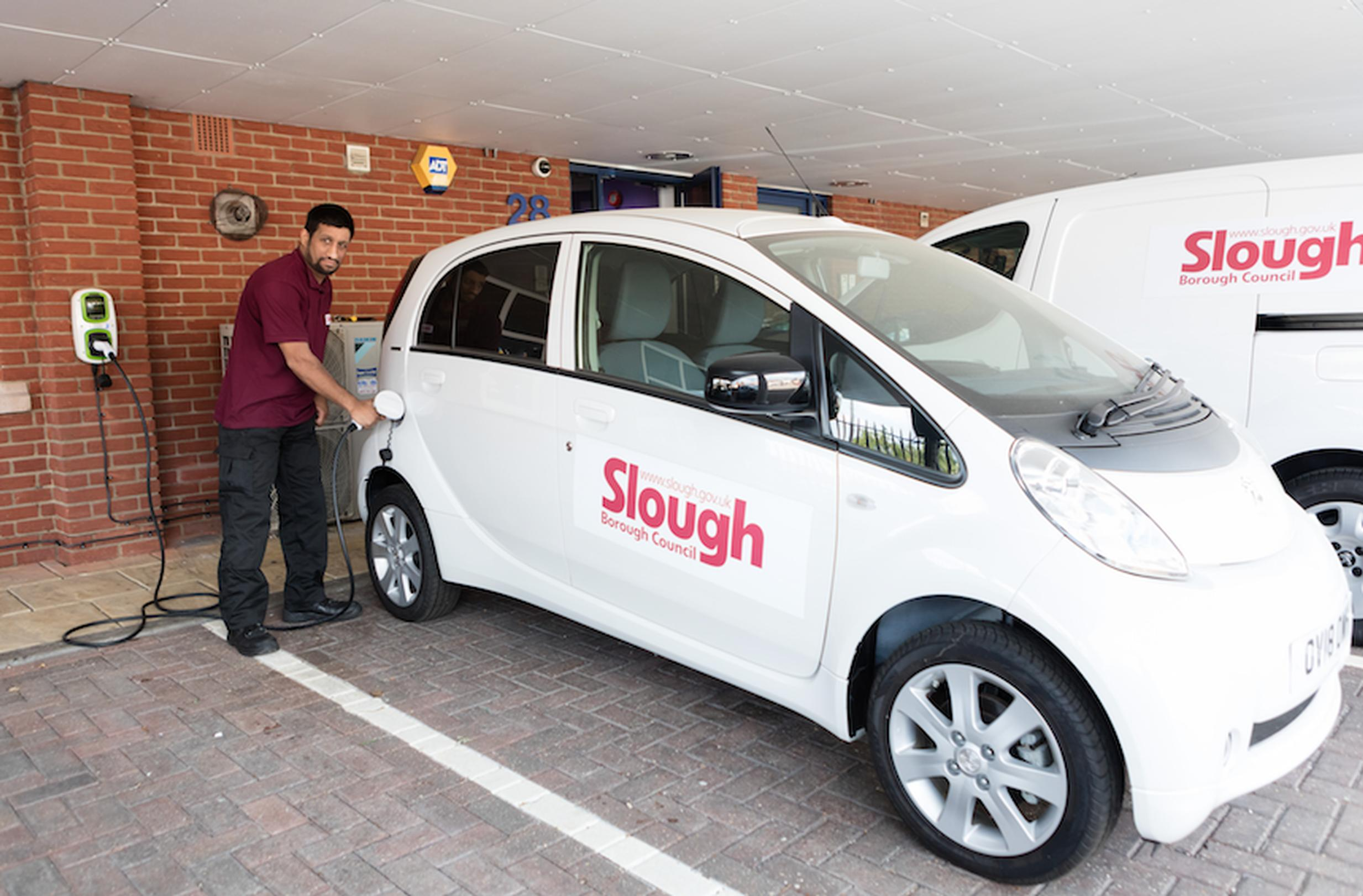 Indigo will be using electric vehicles on its Slough contract