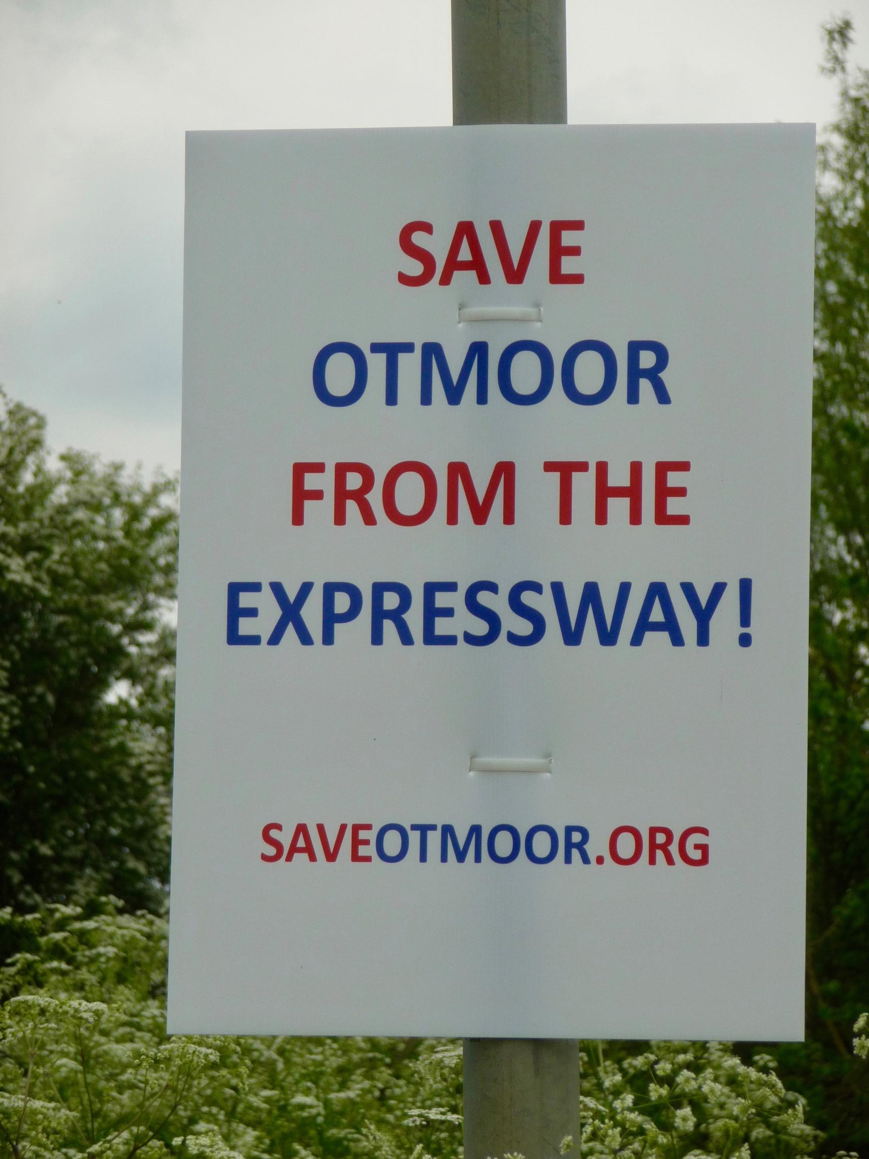 The road could be built through the countryside of Otmoor, to the north of Oxford