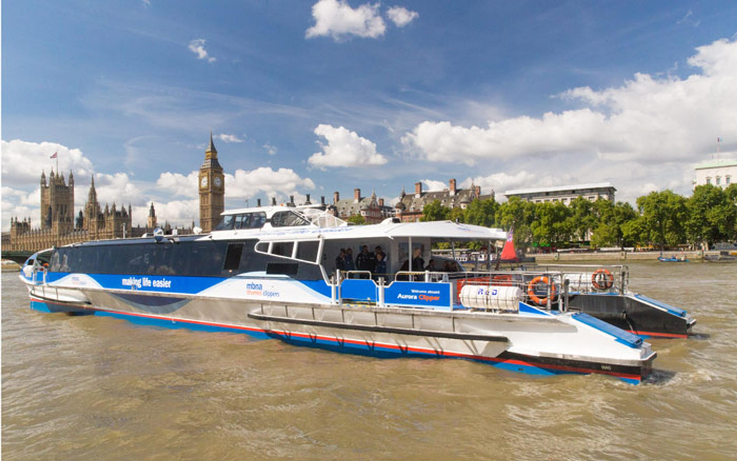 10 million people now use the TfL River Bus service every year