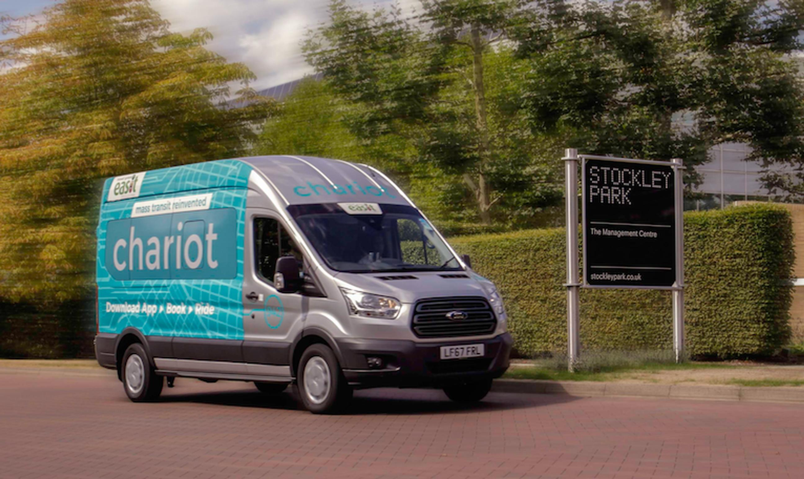 The new Chariot route is a collaboration between Ford and sustainable transport group easitNETWORK.