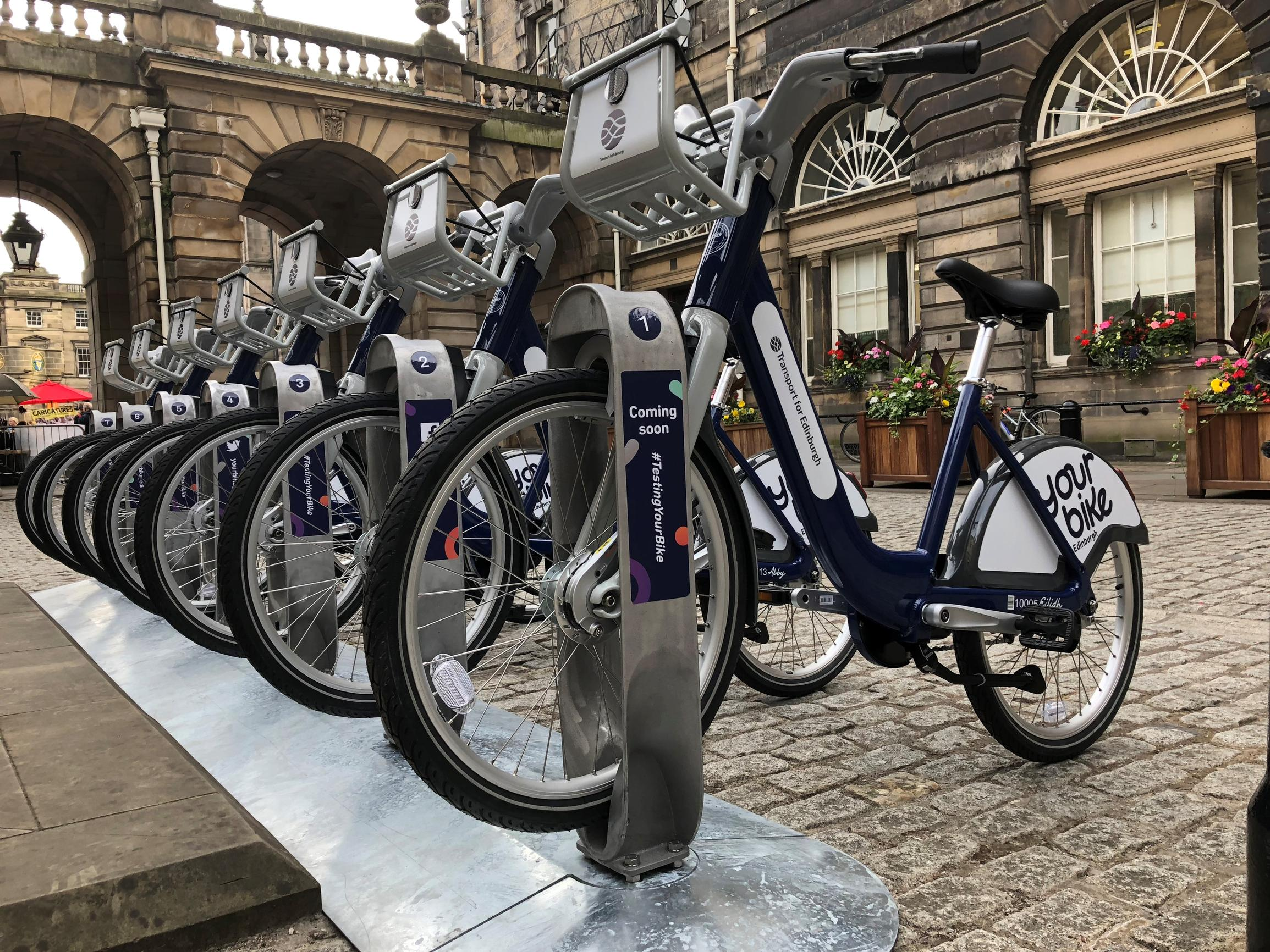 The Your Bike scheme will use `virtual` geo-fenced bike parking stations alongside physical stations