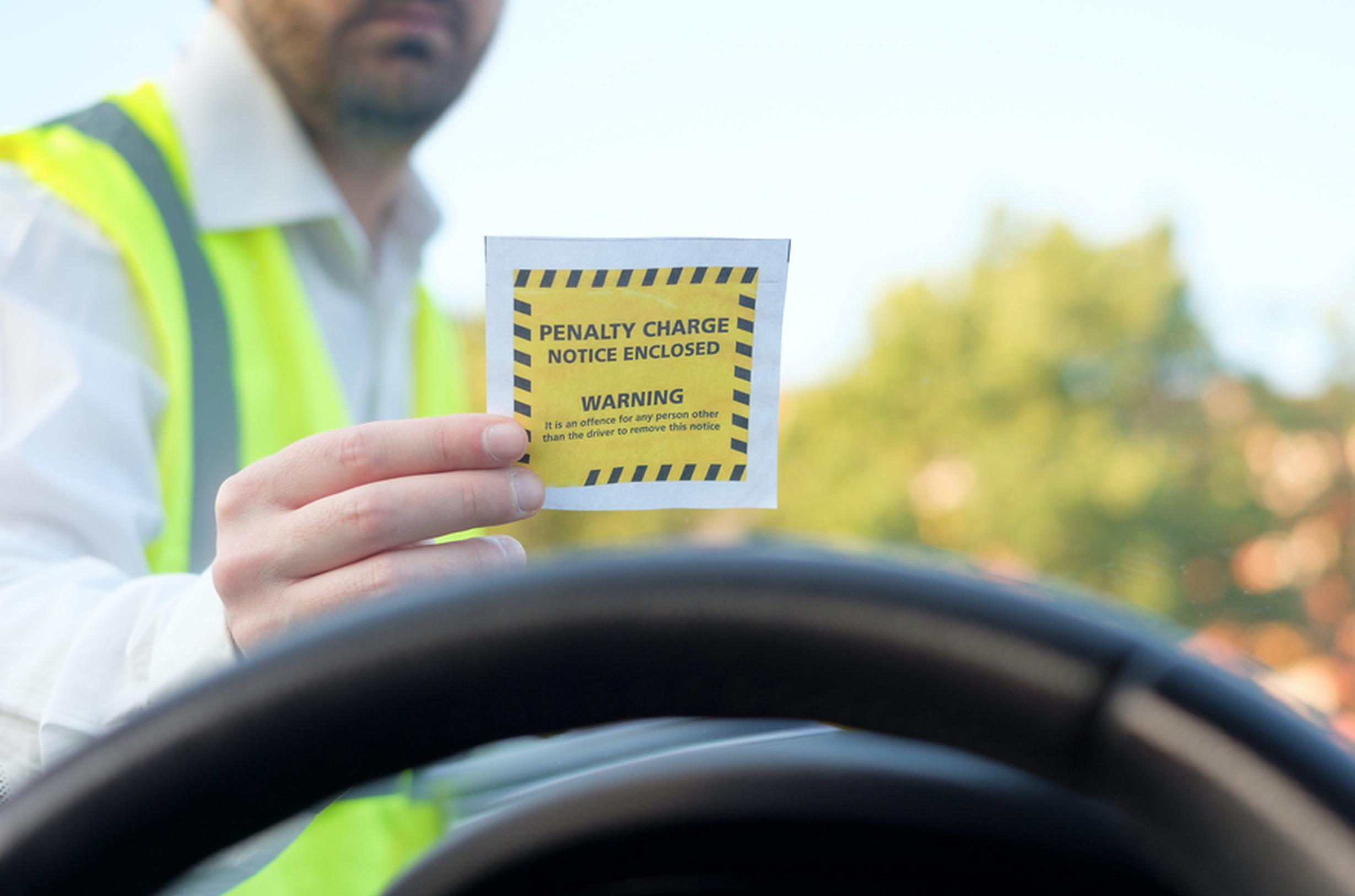 UK motorists amass a total of £570m in parking fines every year