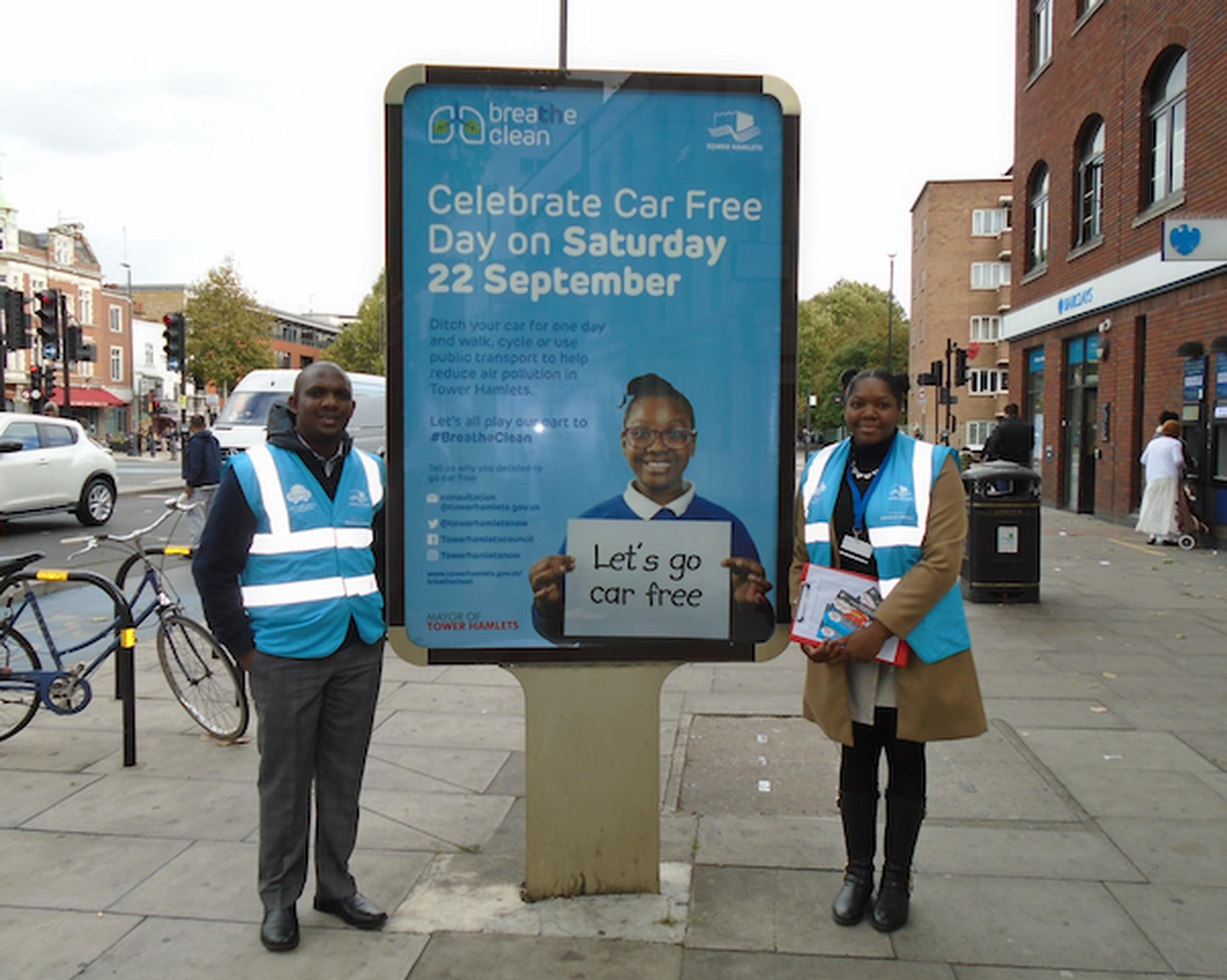 Tower Hamlets marked Car Free Day on 22 September