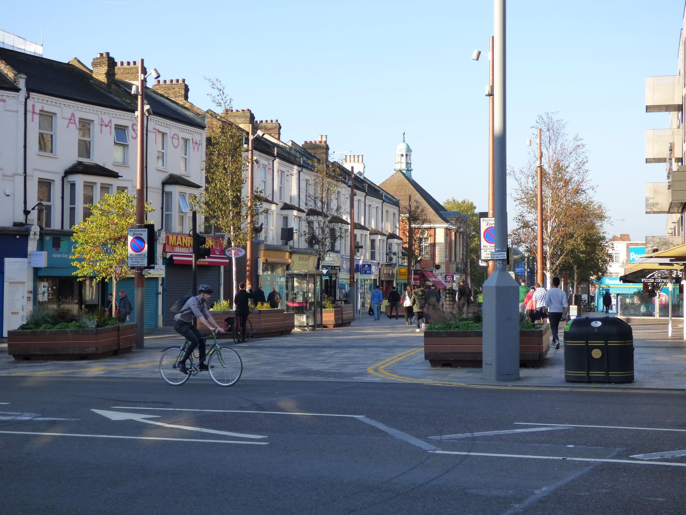 DfT is calling for a pause on level-surface schemes in areas with relatively large amounts of pedestrian and vehicular movement, such as high streets and town centres