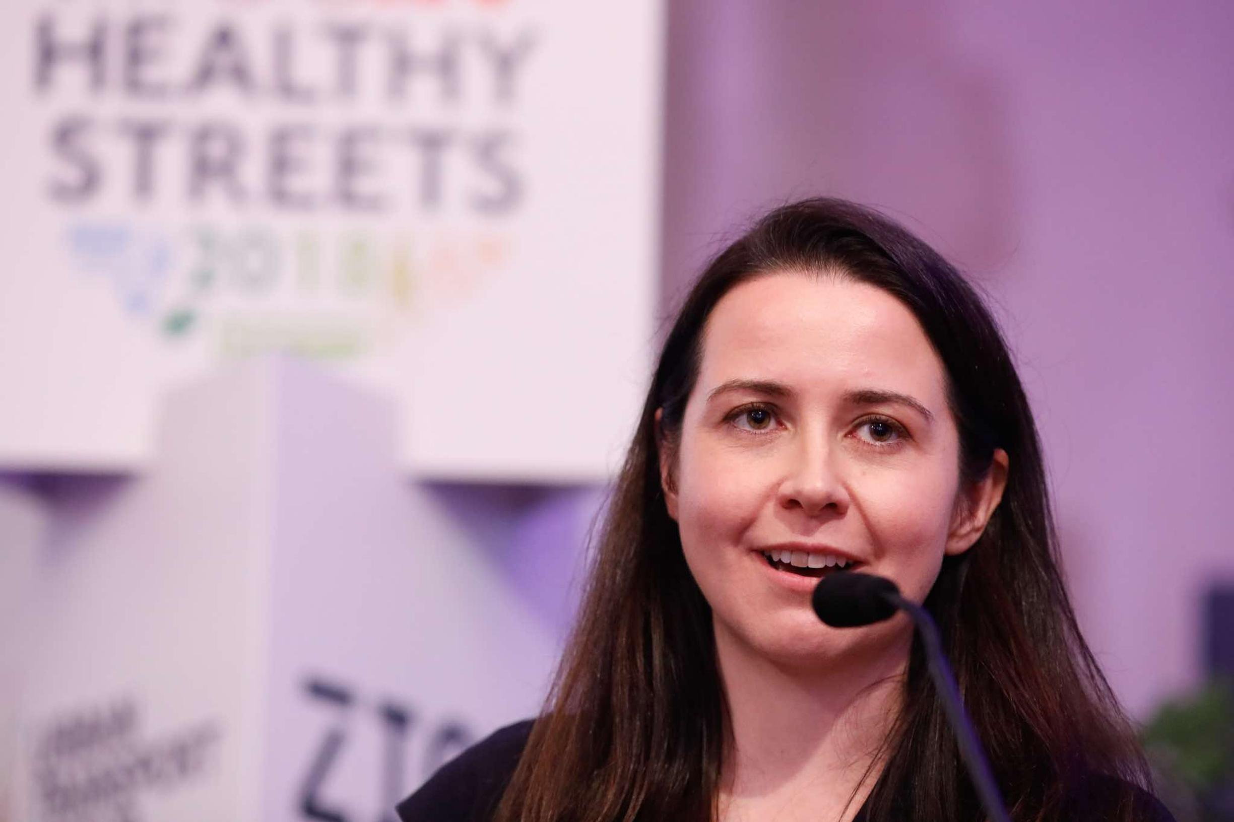 Lucy Saunders, Consultant in Public Health, Transport for London and the Greater London Authority, and the architect of the Healthy Streets approach
