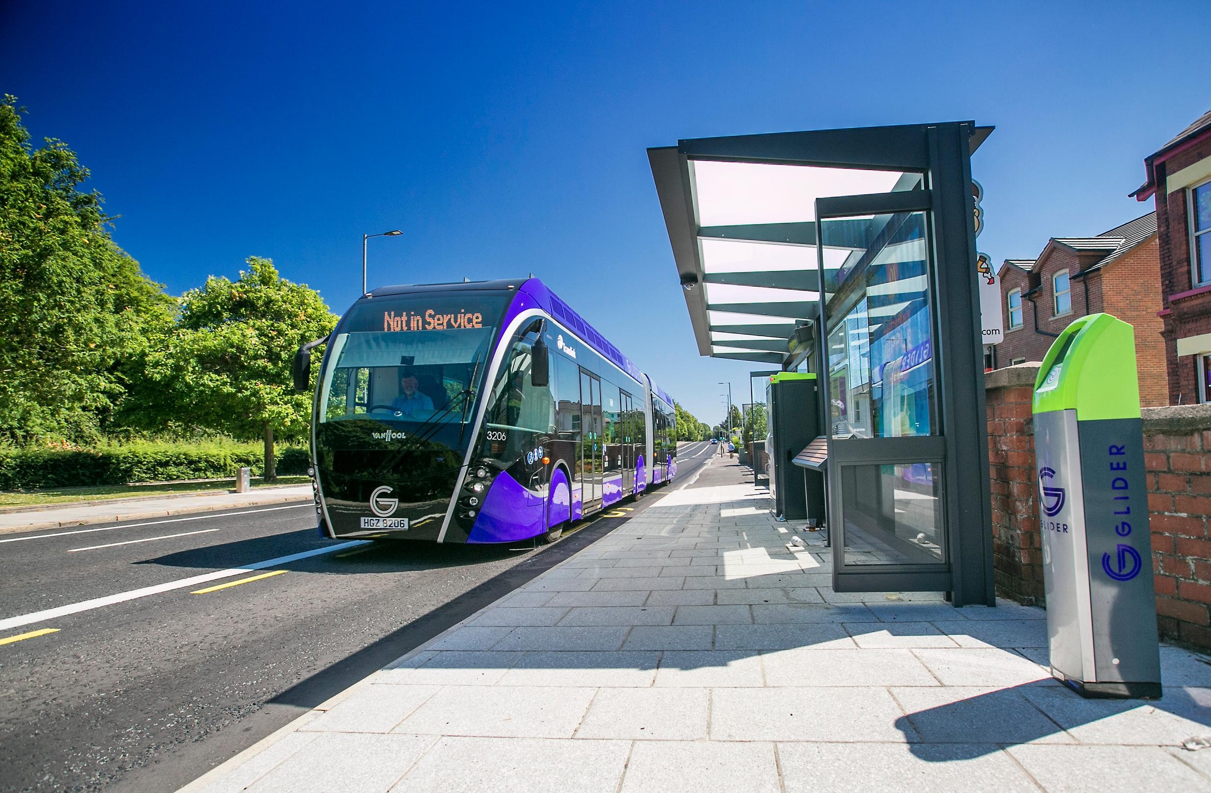 The launch of Glider has resulted in an extra 30,000 passengers each week on bus corridors in Belfast