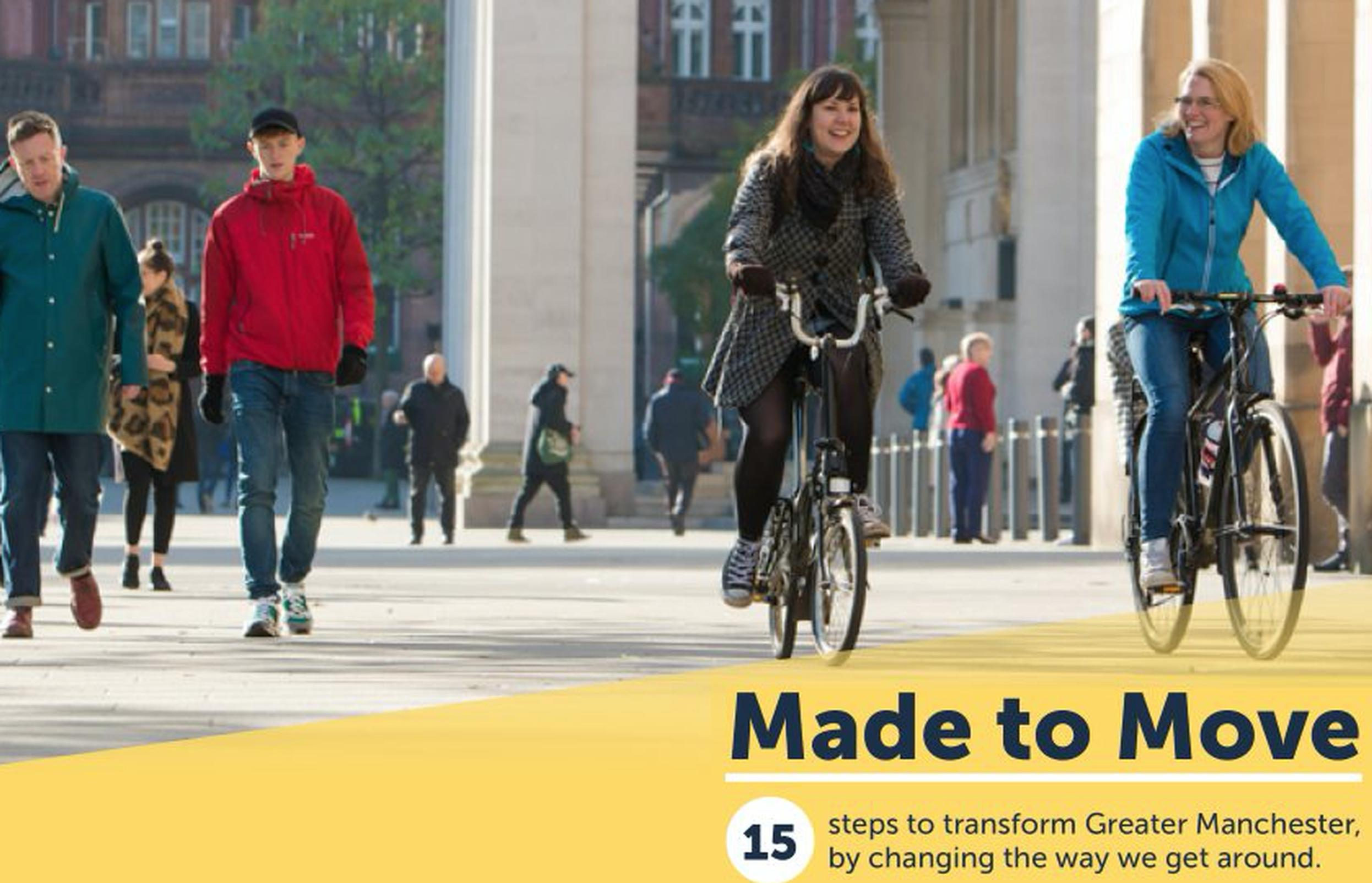 Made to Move is the first report of Greater Manchester's Cycling and Walking Commissioner, Olympic gold medal winner Chris Boardman