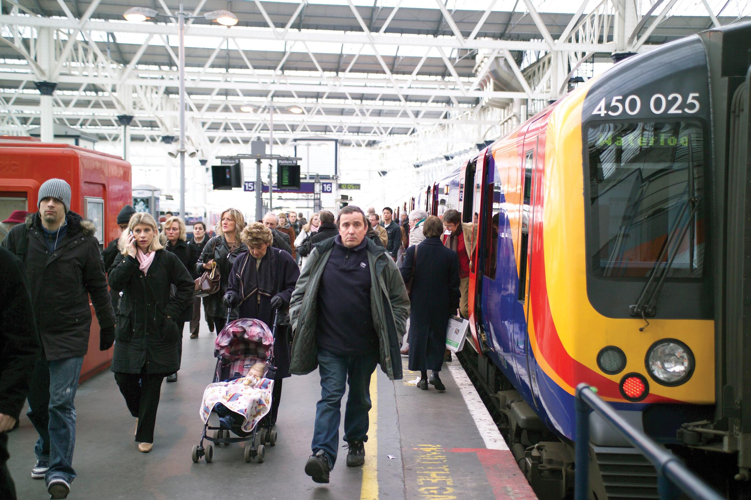 More service sector jobs, more jobs in London, and more people living in cities all help explain rail patronage growth