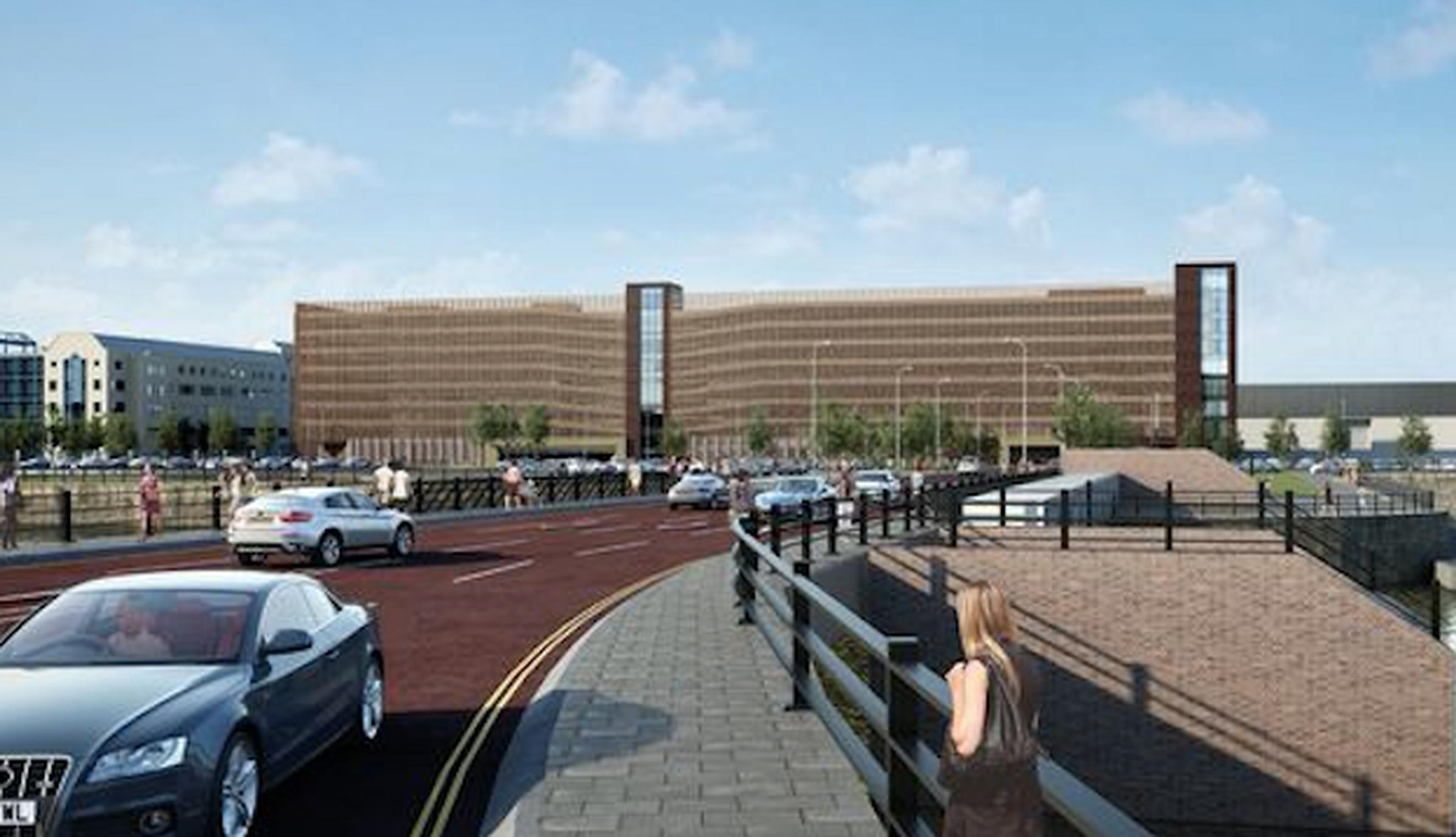 Design of new Liverpool multi-storey unveiled