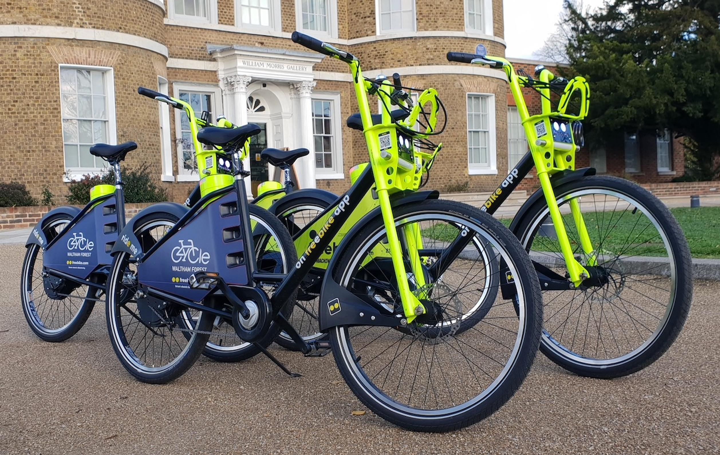 Ten Freebikes now available to staff at London Borough of Waltham Forest