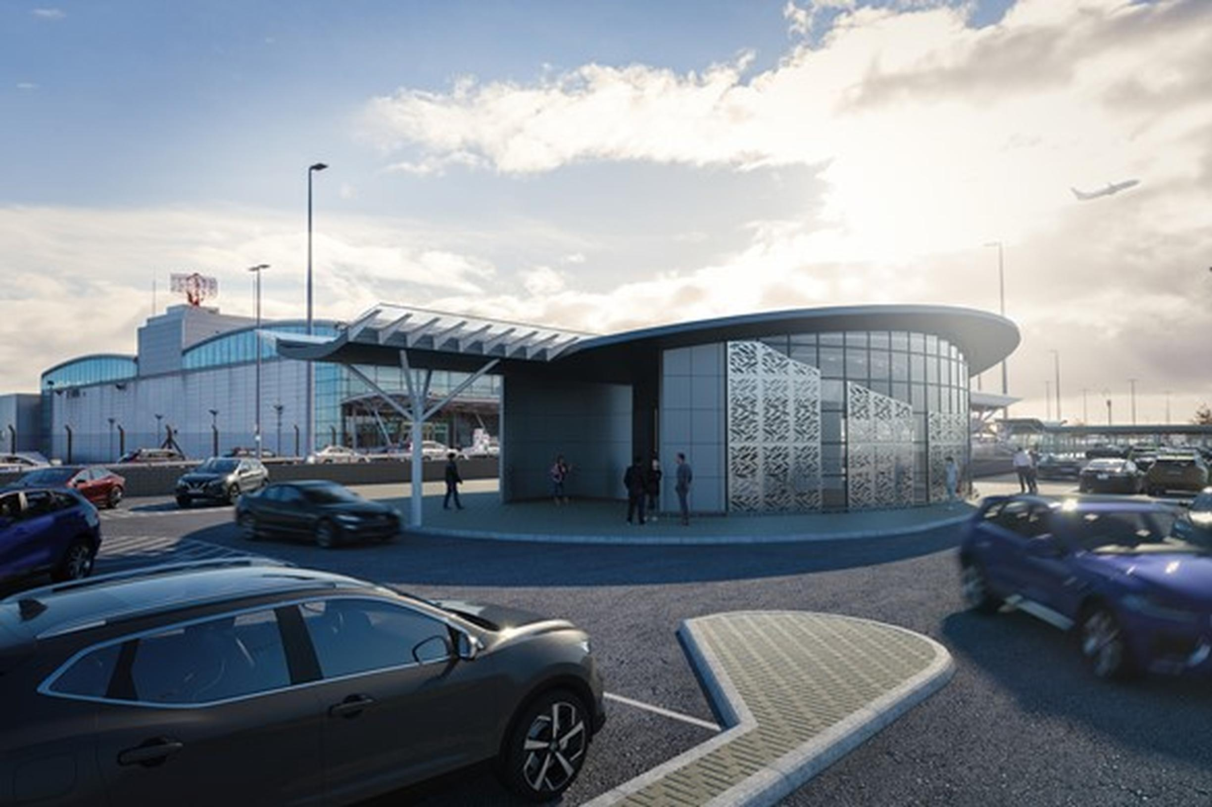 Newcastle International Airport to upgrade of parking facilities