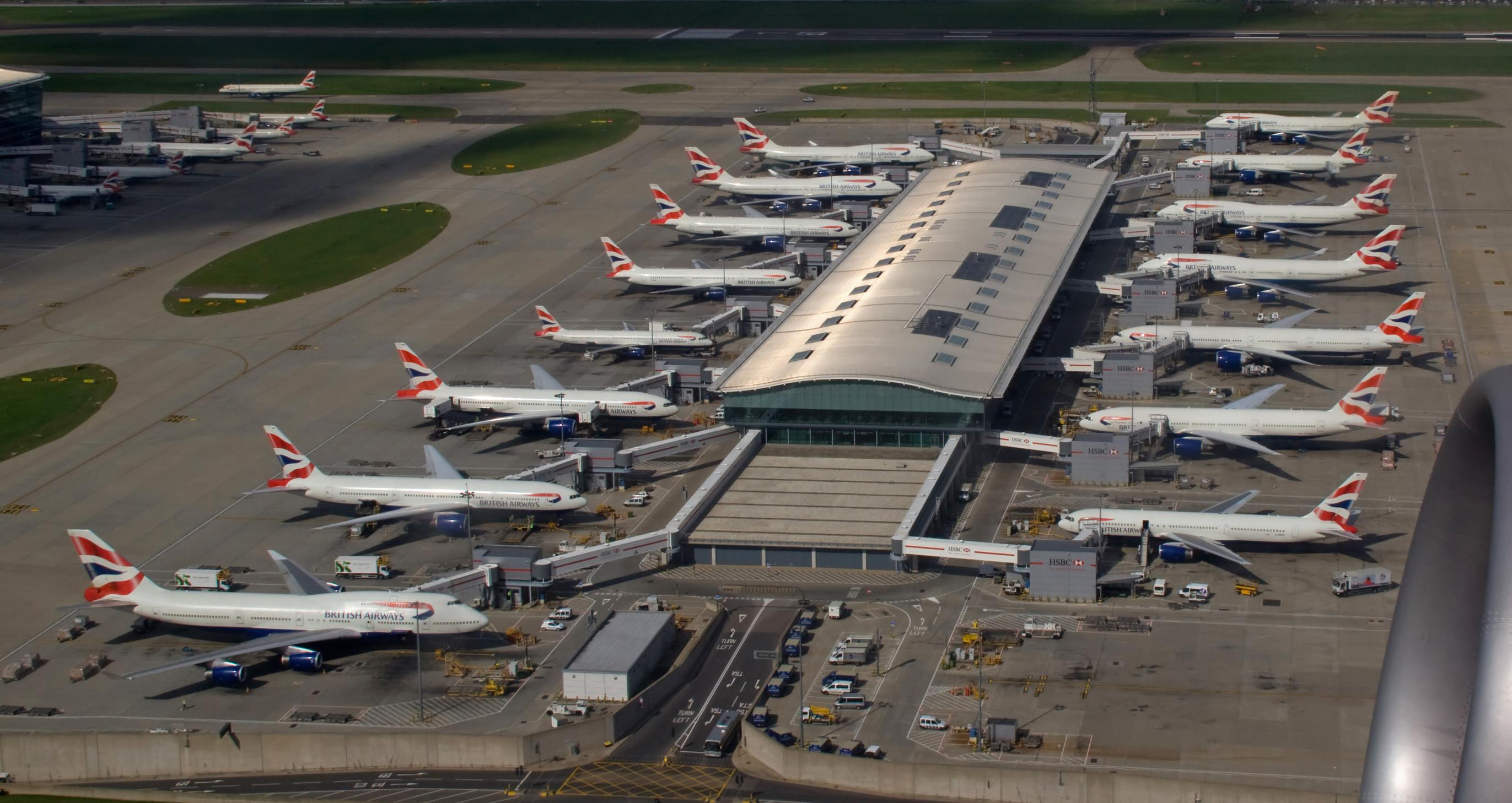 Heathrow: private sector keen to play a part in rail projects