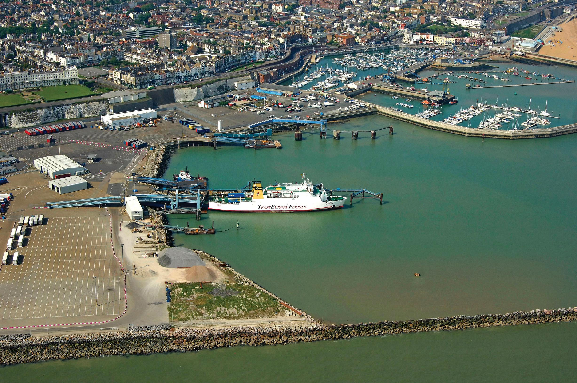 Ramsgate: ferries to return, deal or no-deal