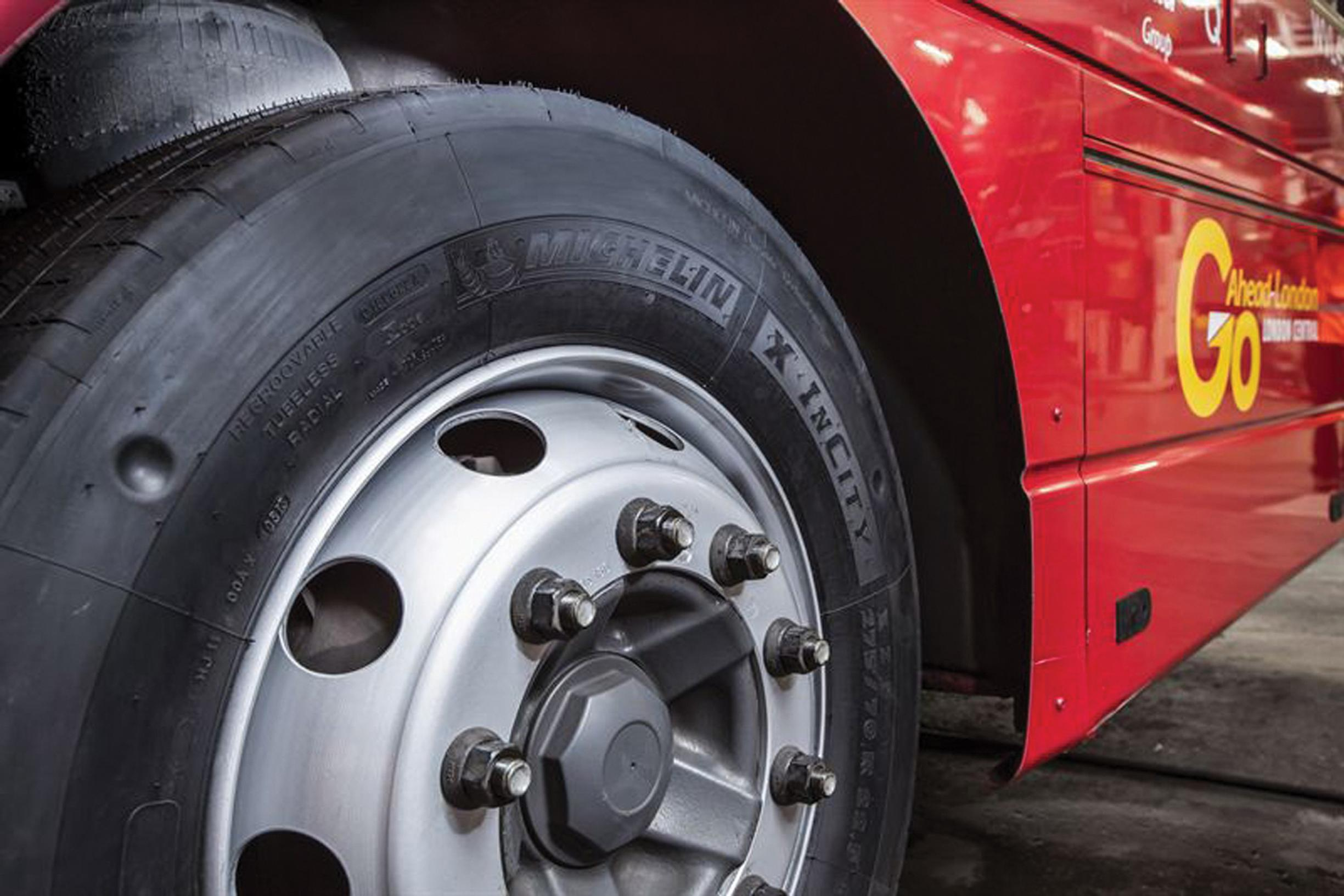 Tyres: one of many sources of particulates