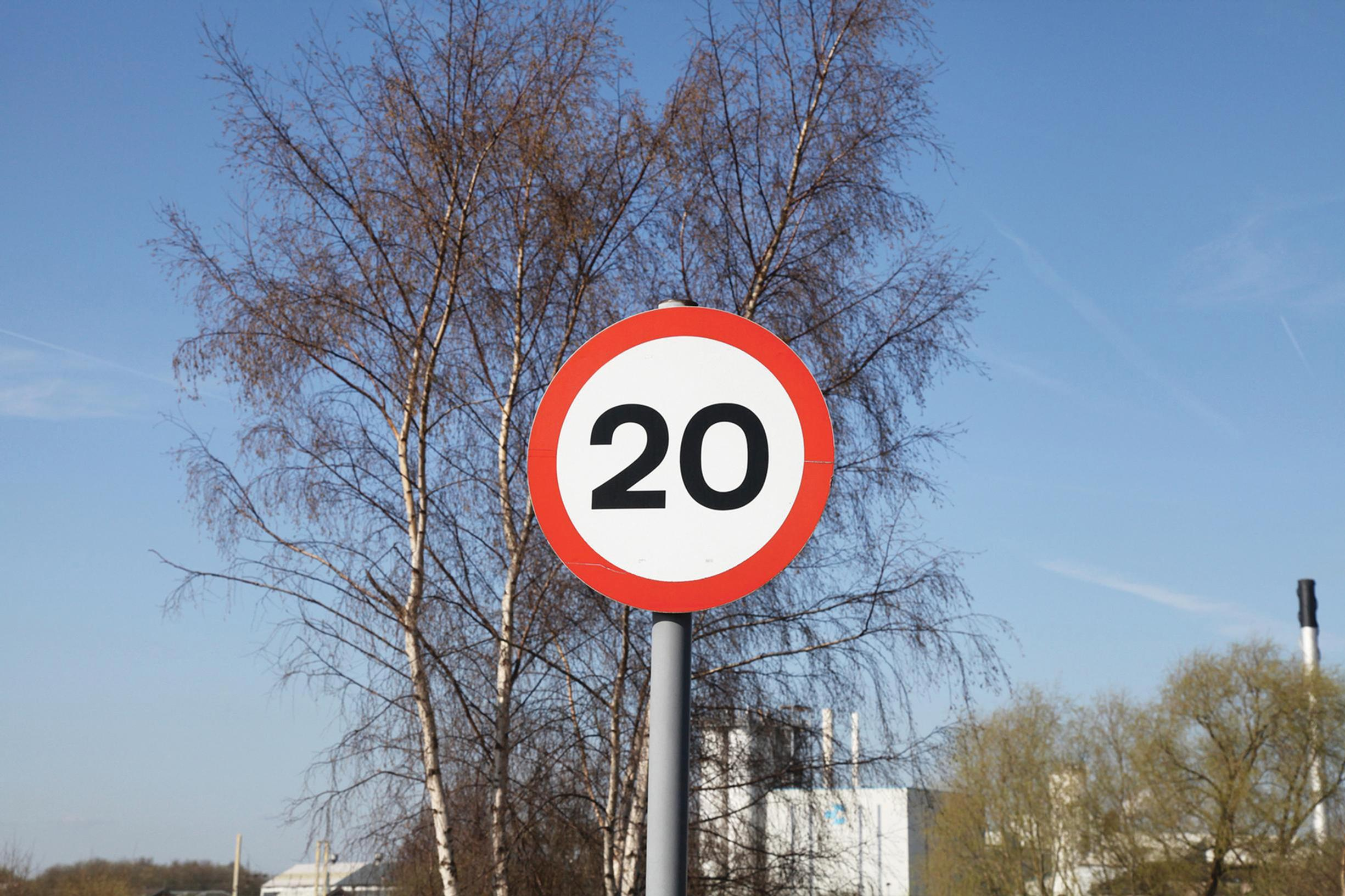 20mph: more speed limit buffer zones?