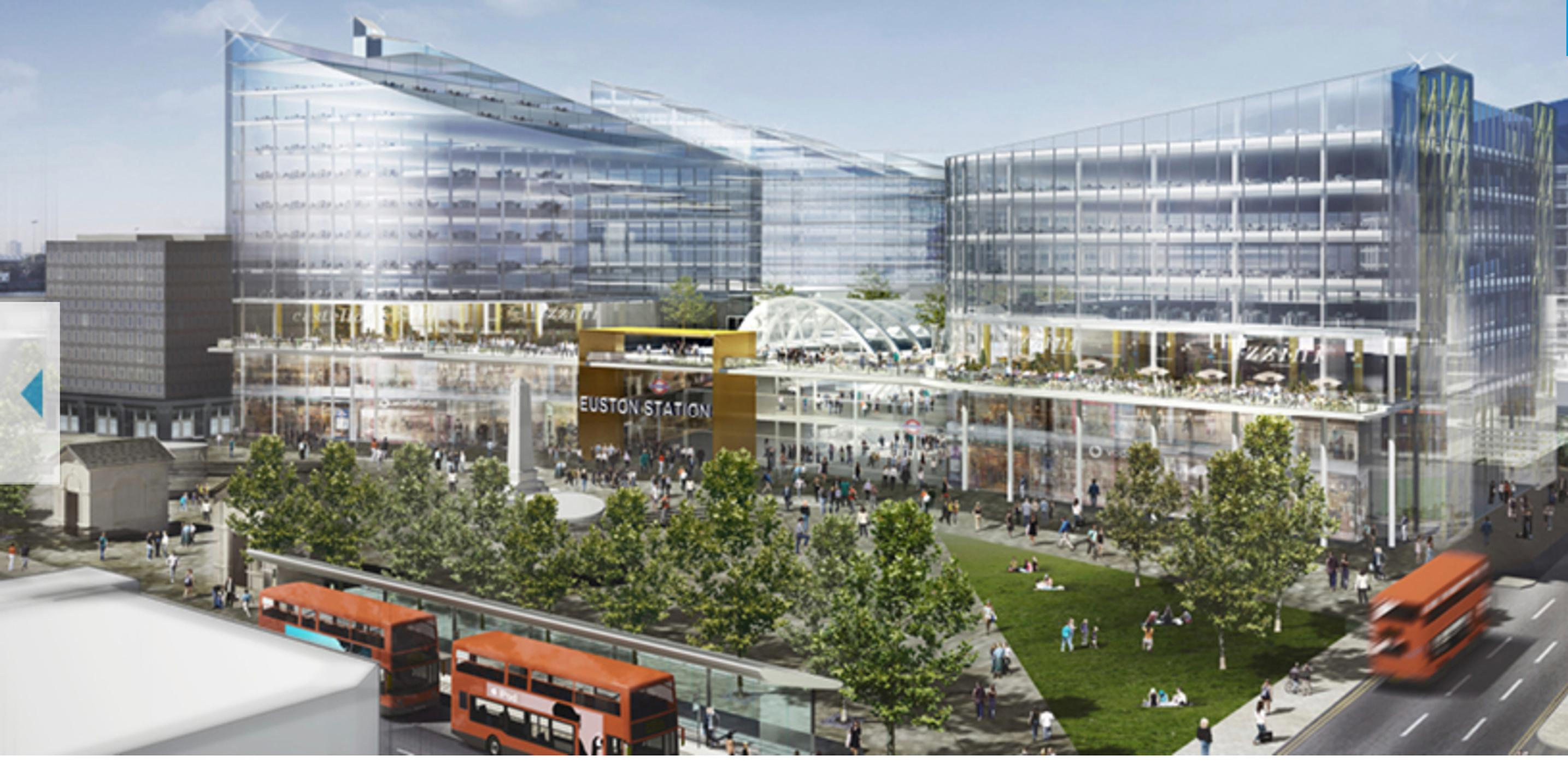 Designs for over-development at Euston Station by SNC Lavalin Atkins