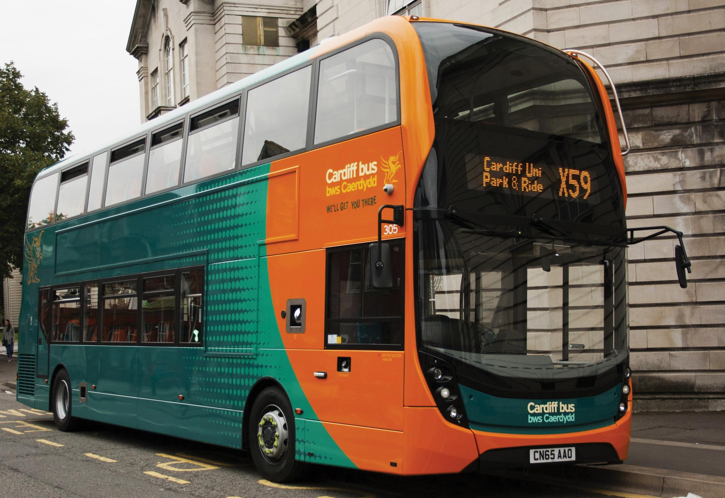 Cardiff Bus: staff represent 69 per cent of costs
