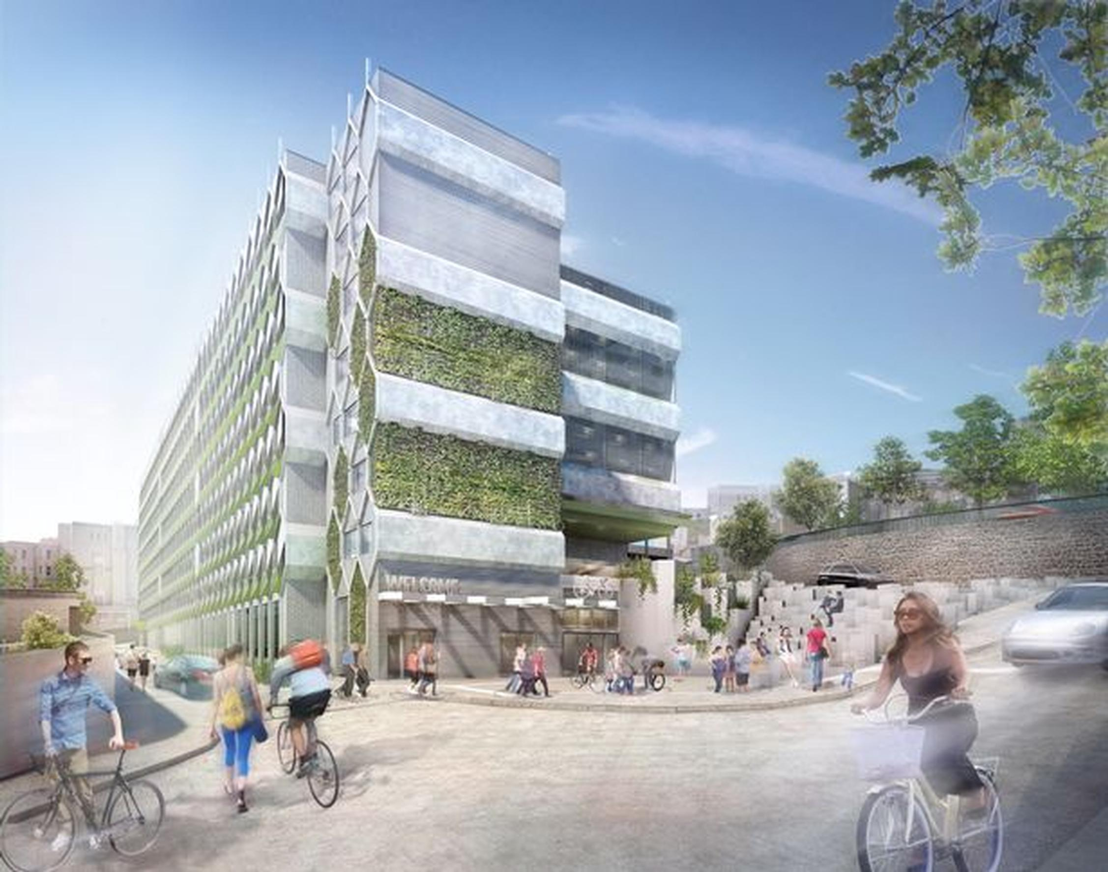 Bristol Royal Infirmary`s planned car park