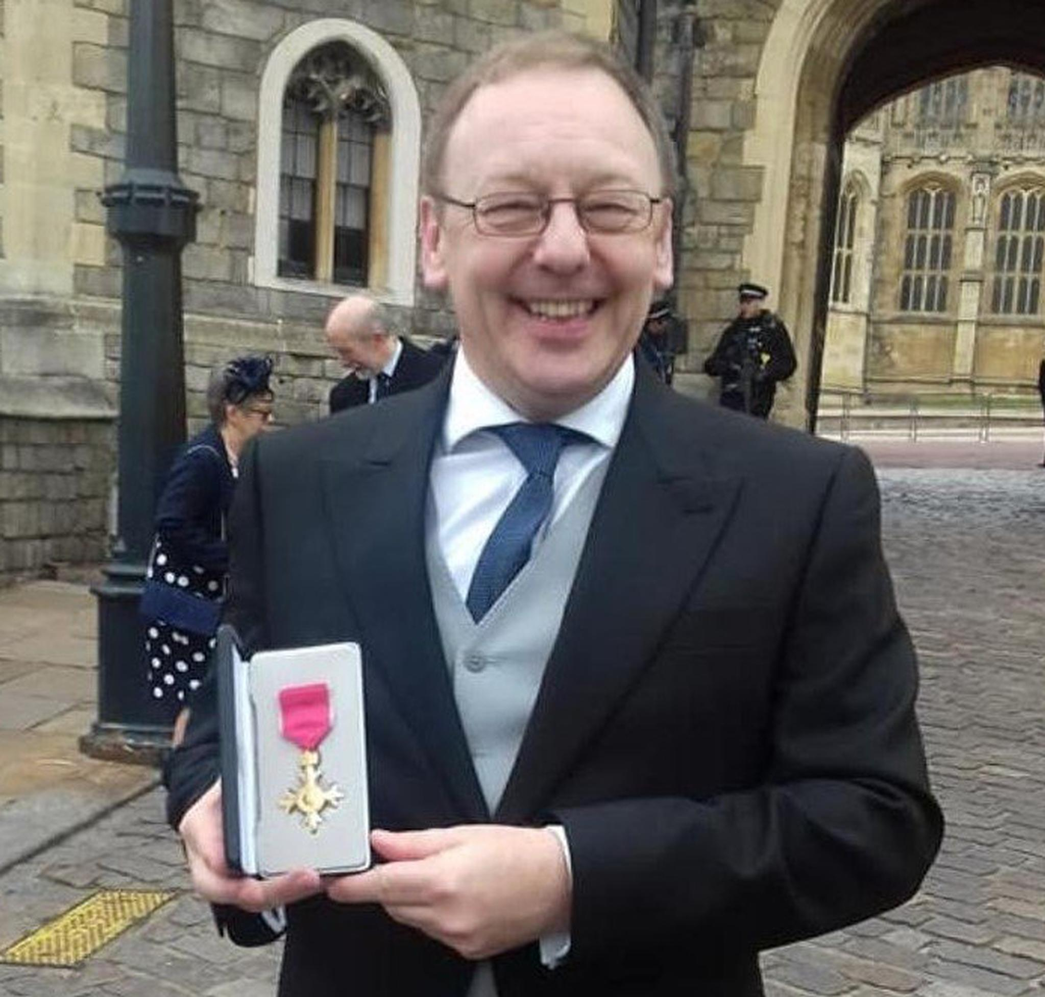 Chipside's CEO receives OBE from HM The Queen