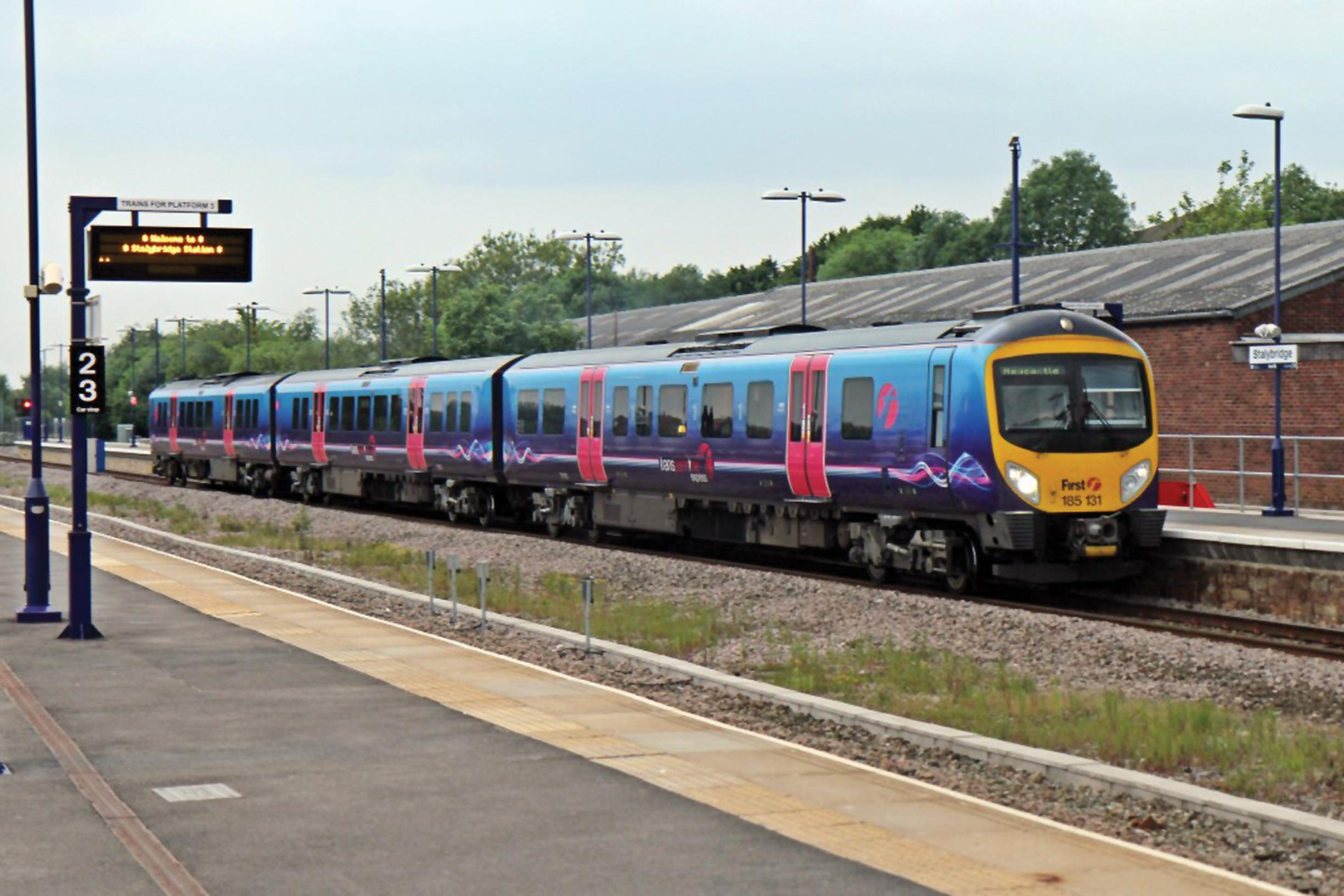 Transpennine: partial electrification