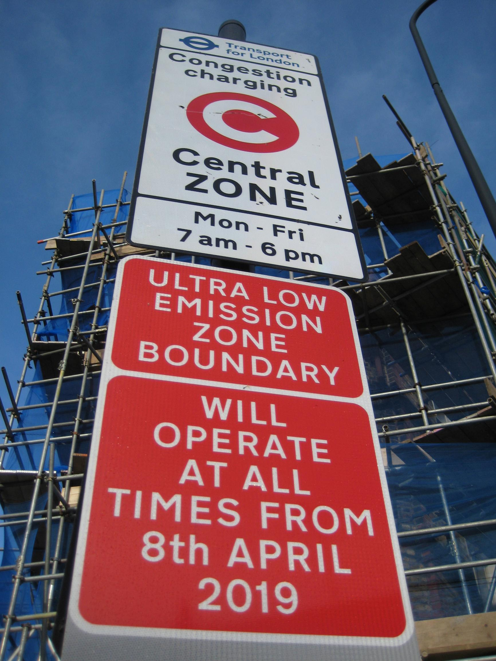 London's ultra-low emission zone launched