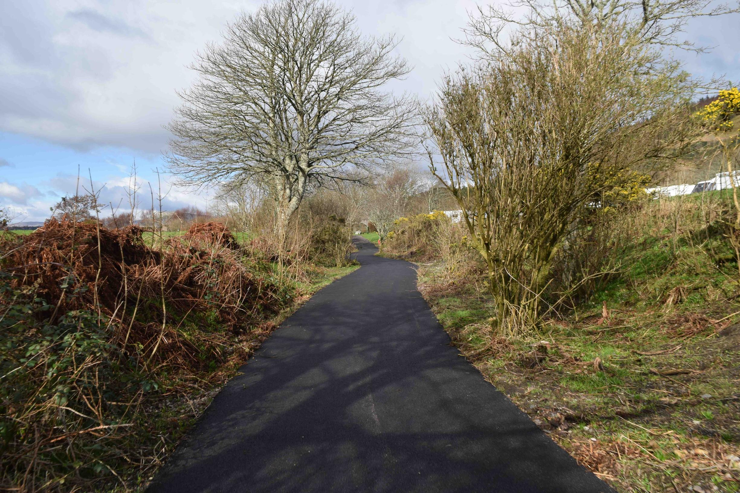 the new sustrans recreational track