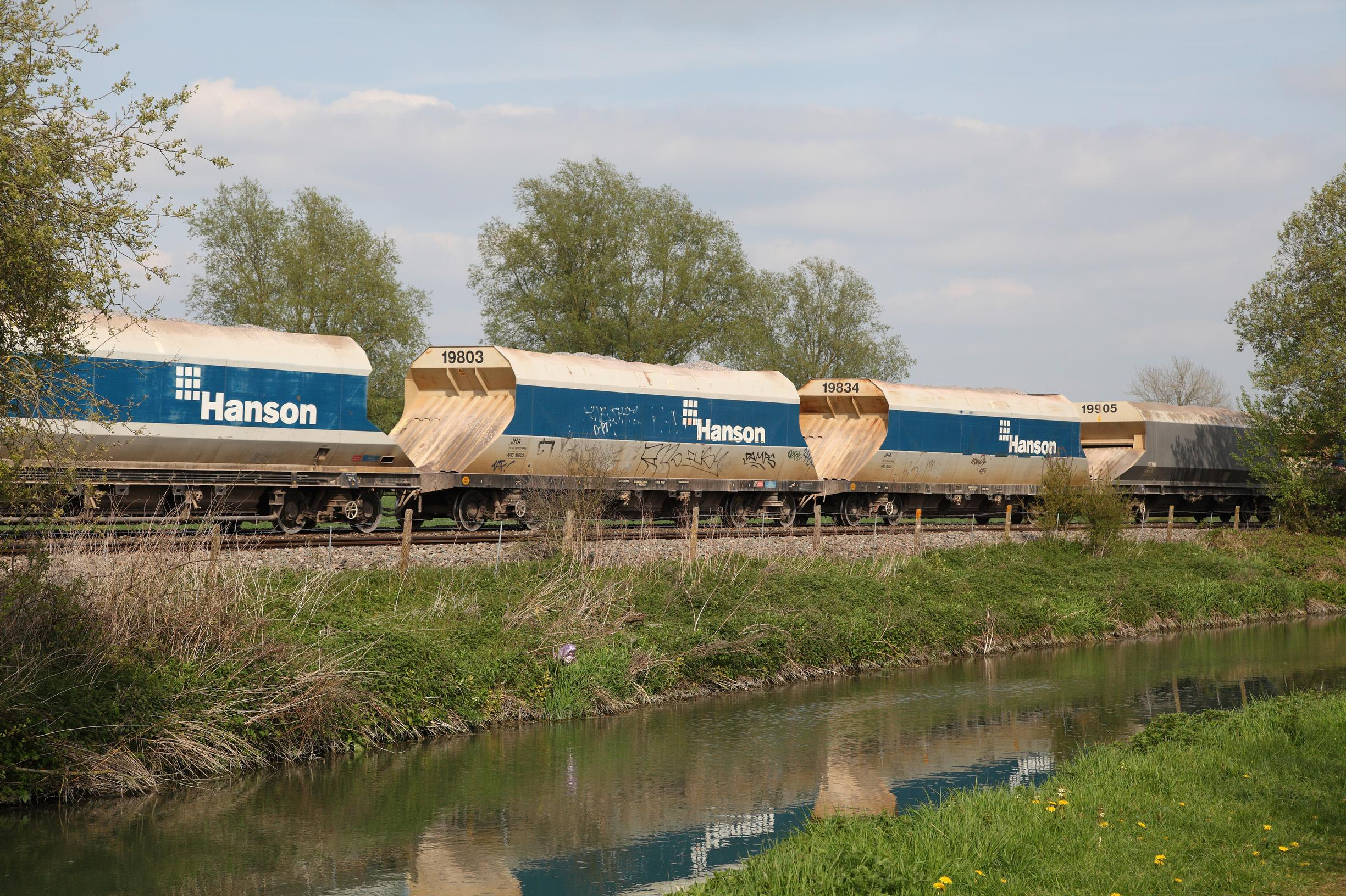 Rail carries 20 million tonnes of aggregate a year. Without electrification, lorry miles could rise under the NIC's proposal for a diesel freight train ban