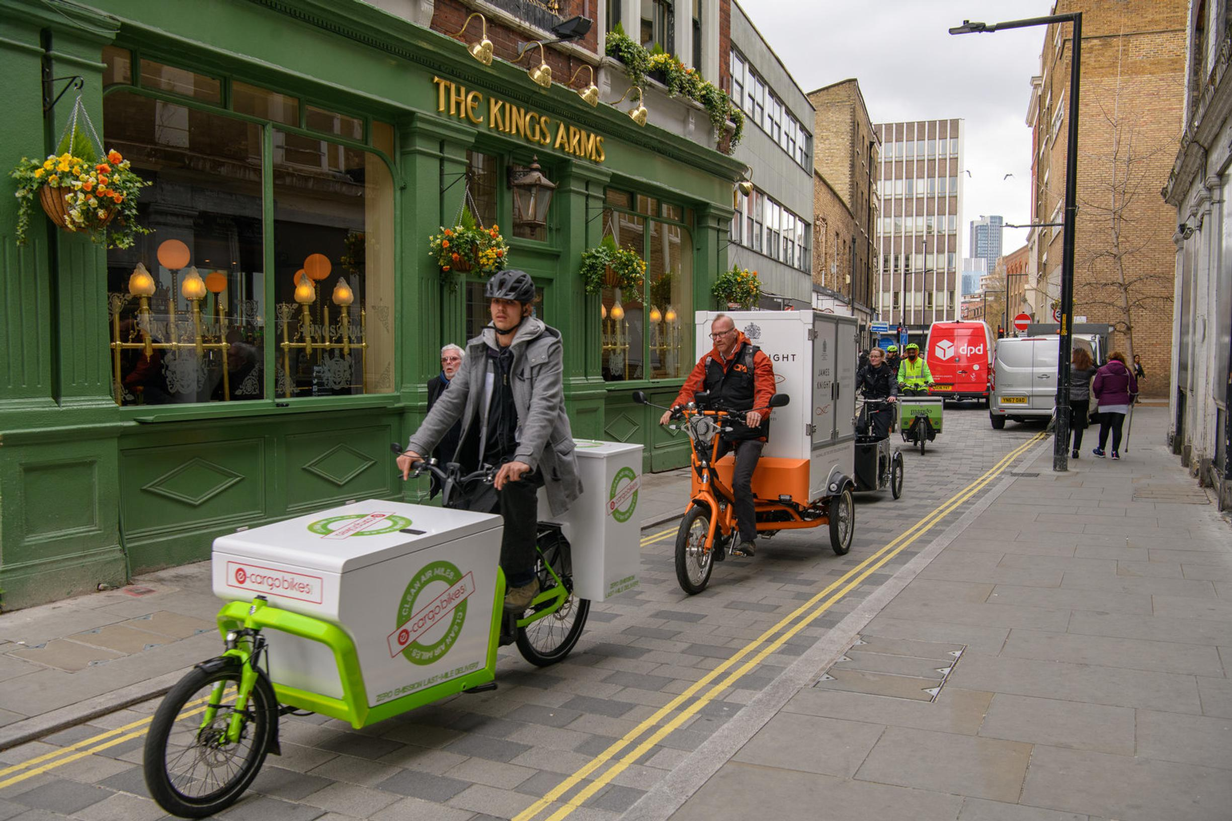 Cargo bikes will become a more common sight in London