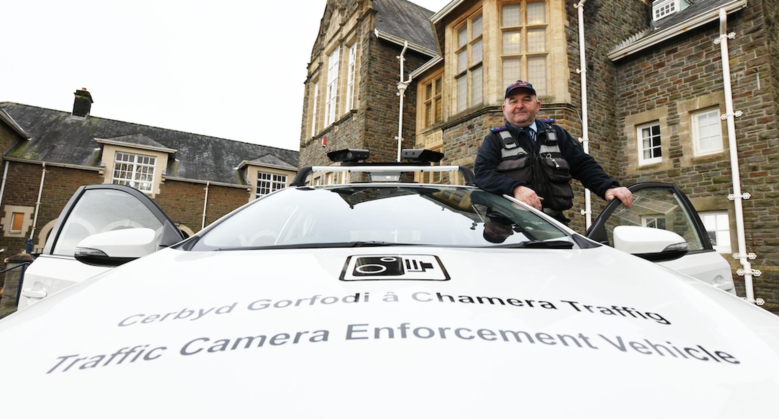Carmarthenshire County Council`s ANPR-equipped camera car