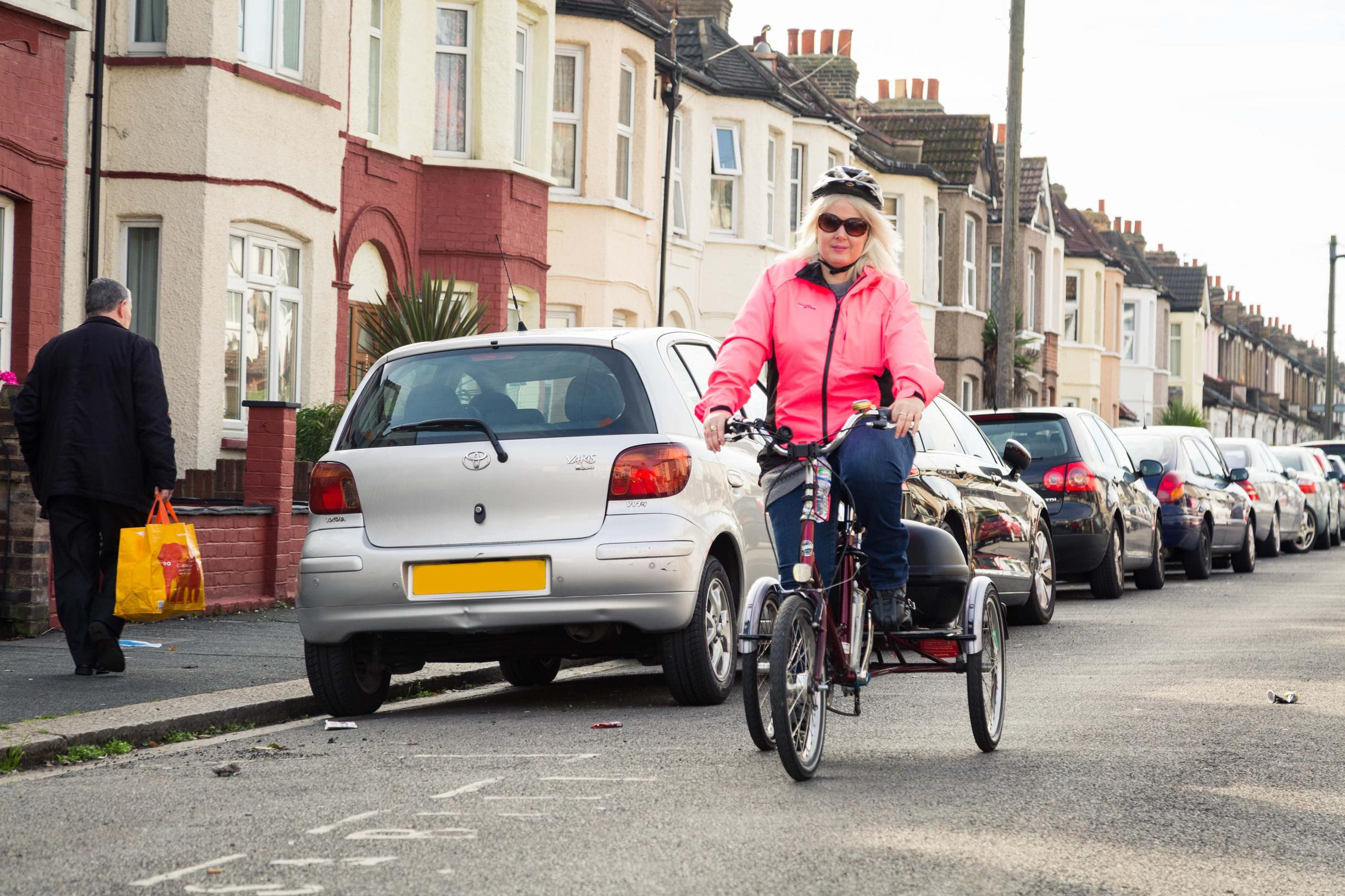 Cycling infrastructure design standards should meet the needs of those using adapted cycles including tricycles, tandems and cargo bikes, says Sustrans/Arup report (Image: Wheels for Wellbeing)