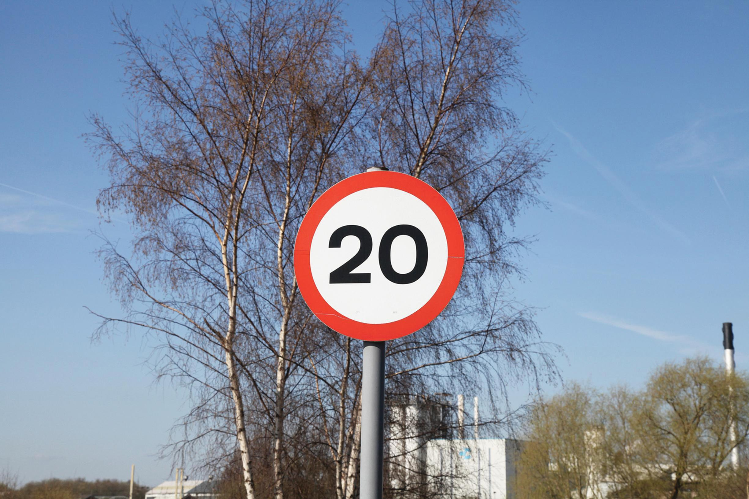 20mph: too slow on Valley roads?