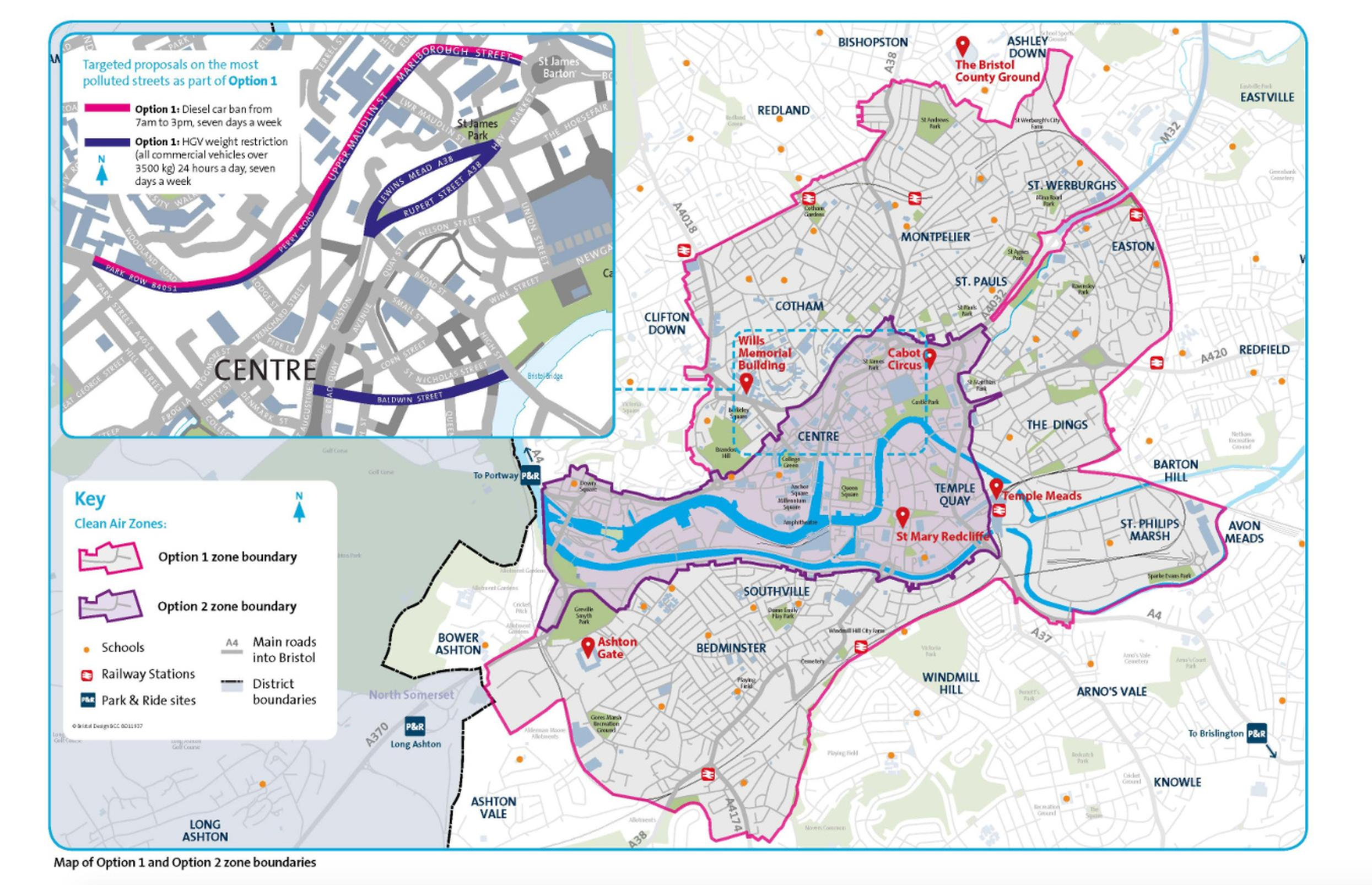 Bristol consults on CAZ and diesel car ban