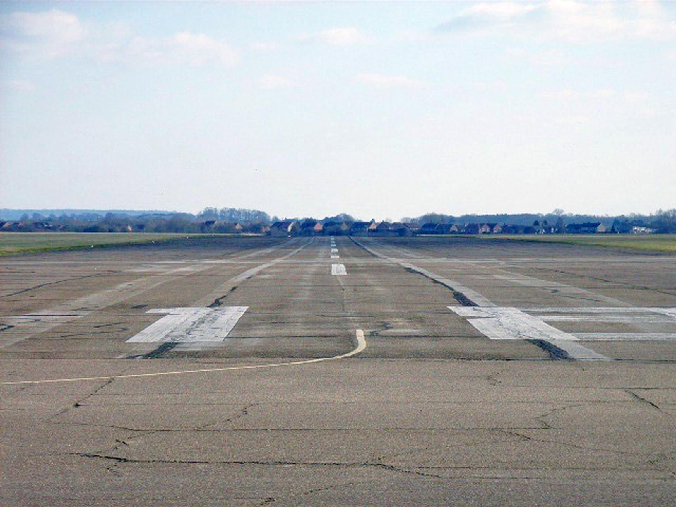There is strong opposition to housing on Chalgrove Airfield