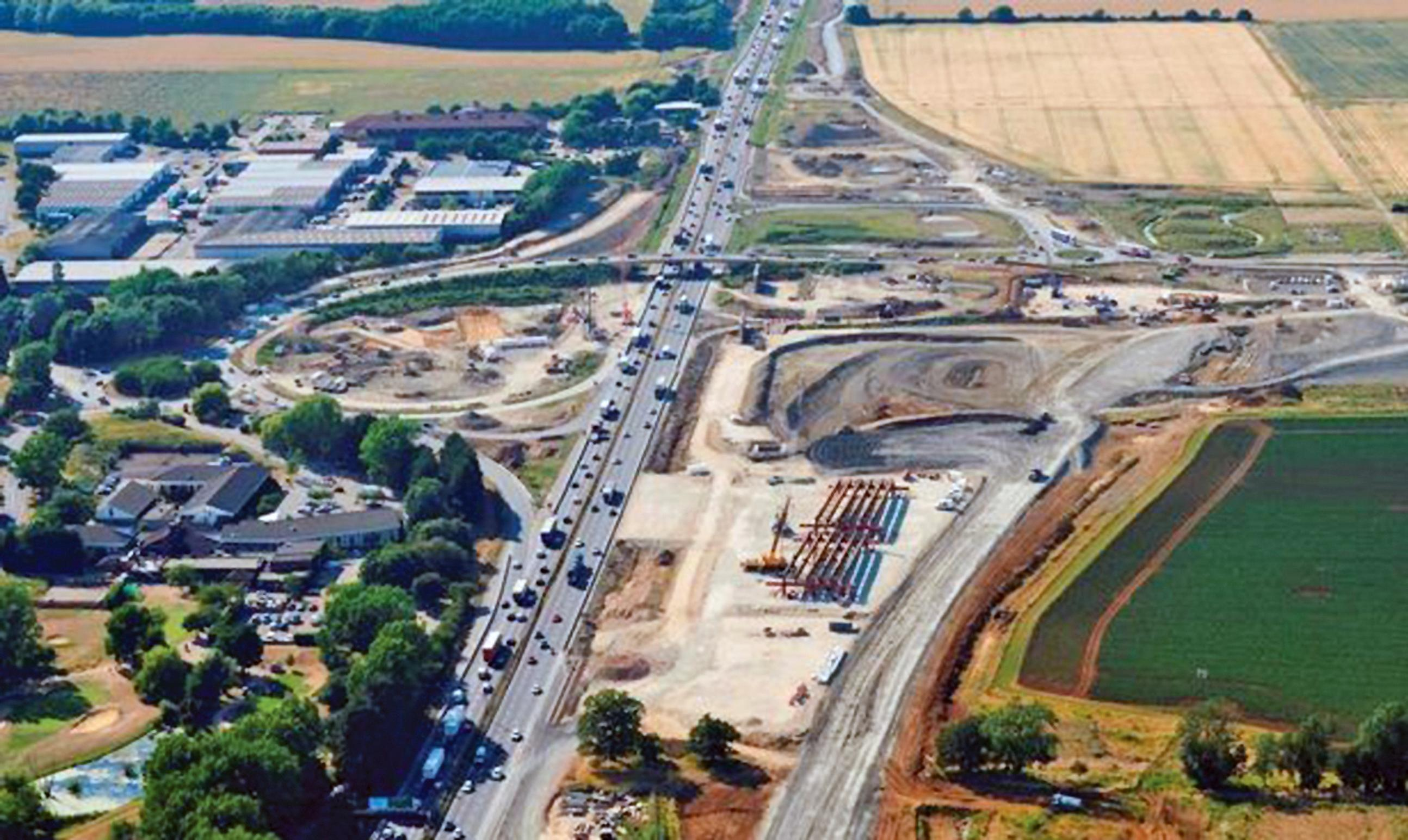 The A14 improvements