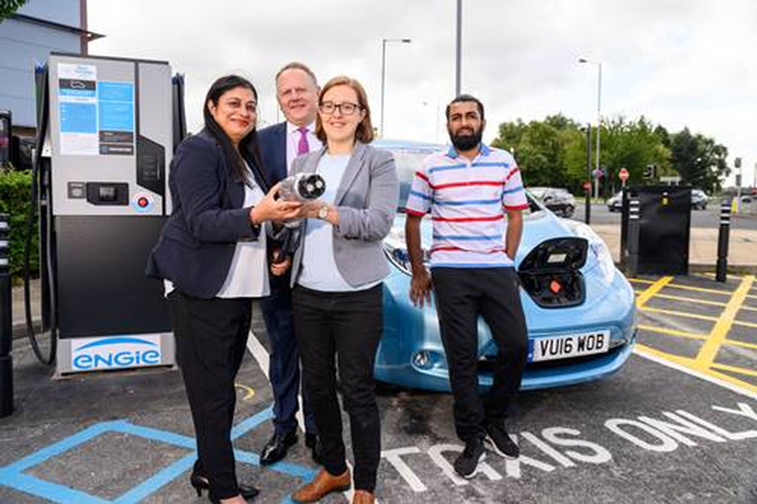 West Yorkshire electric vehicle rapid-charging network is live