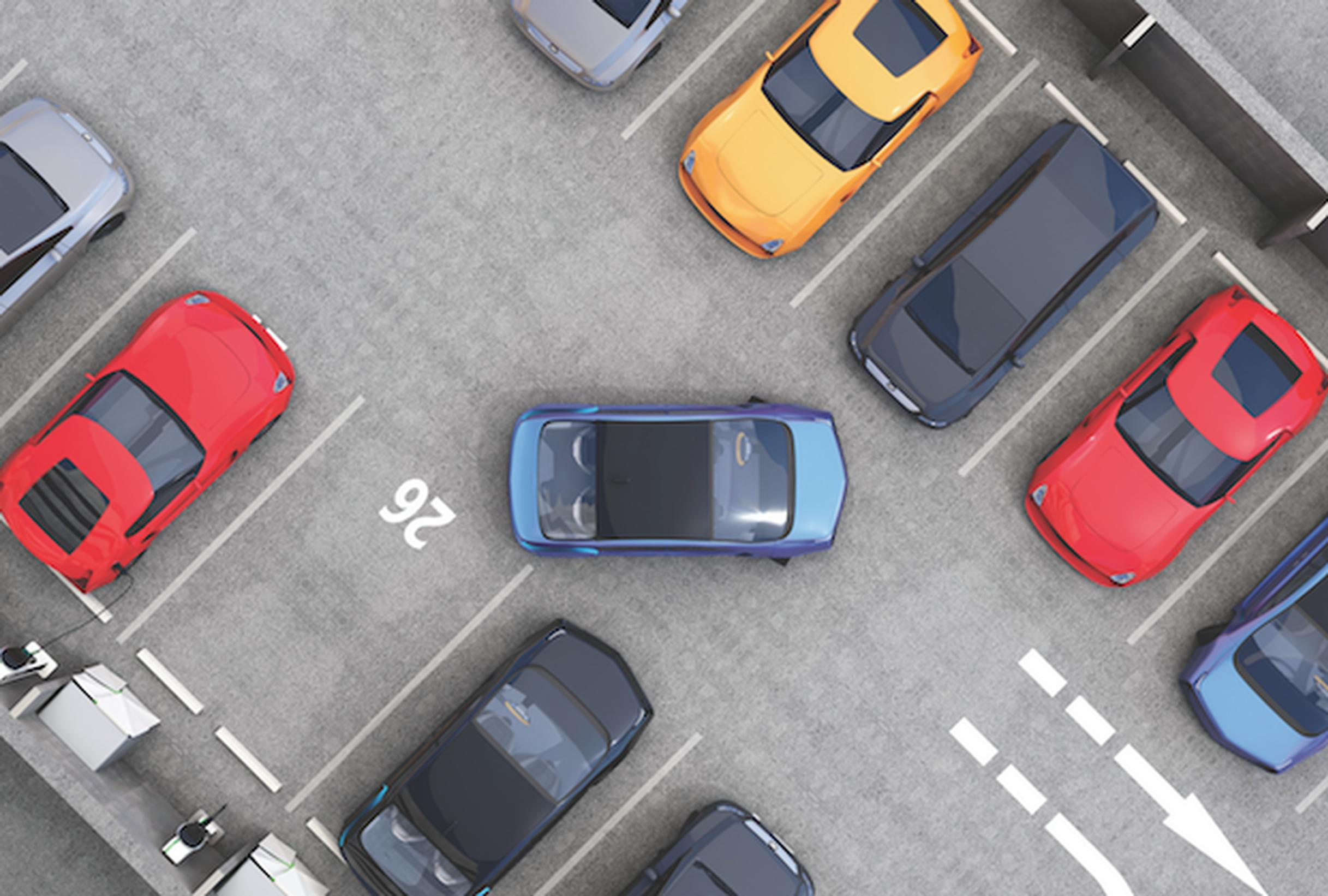 If AVs are privately-owned, the number of car parking spaces could be equivalent to today's number or slightly increased due to higher mobility rates