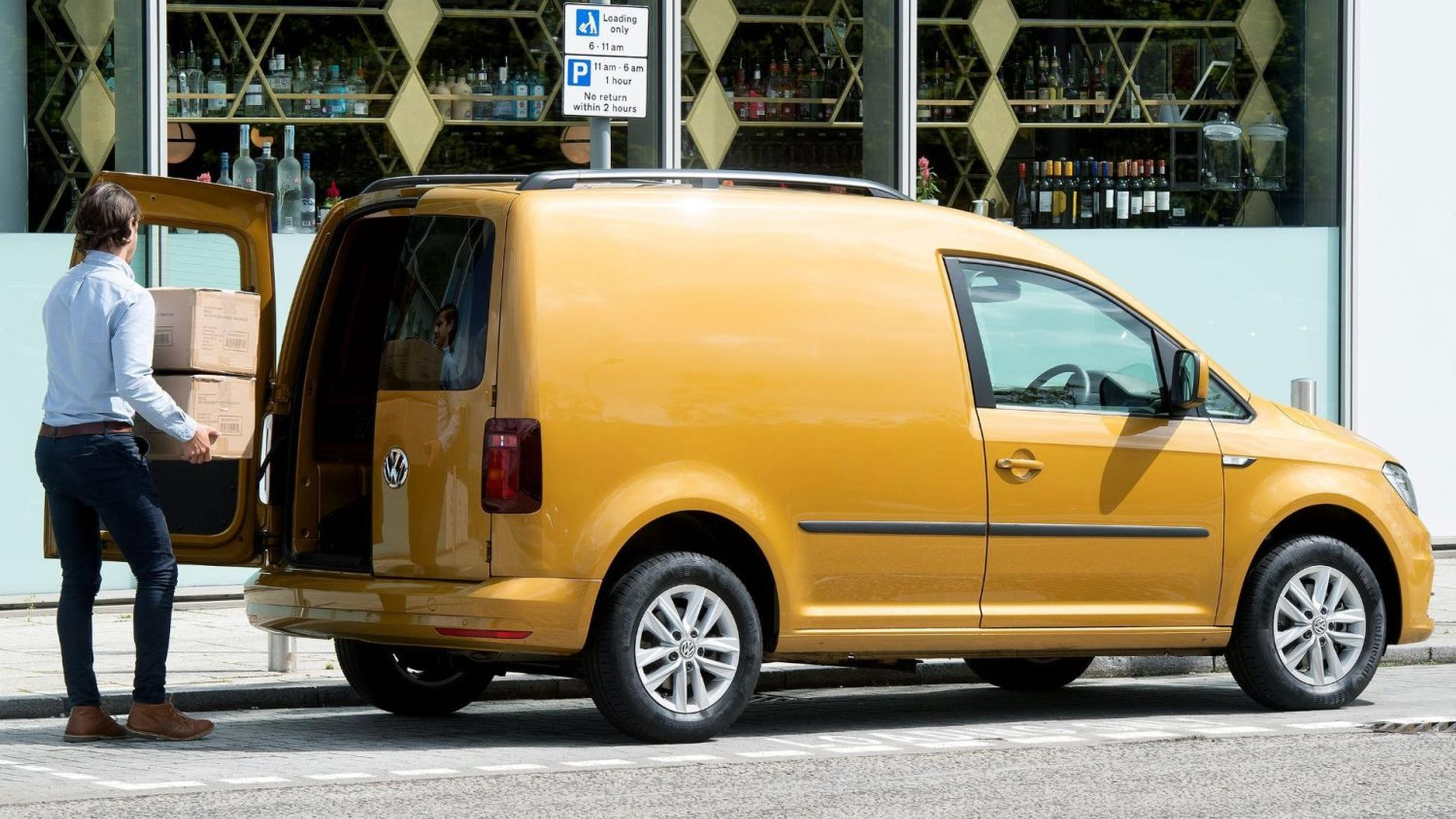 Many van drivers do not understand loading rules, VW finds