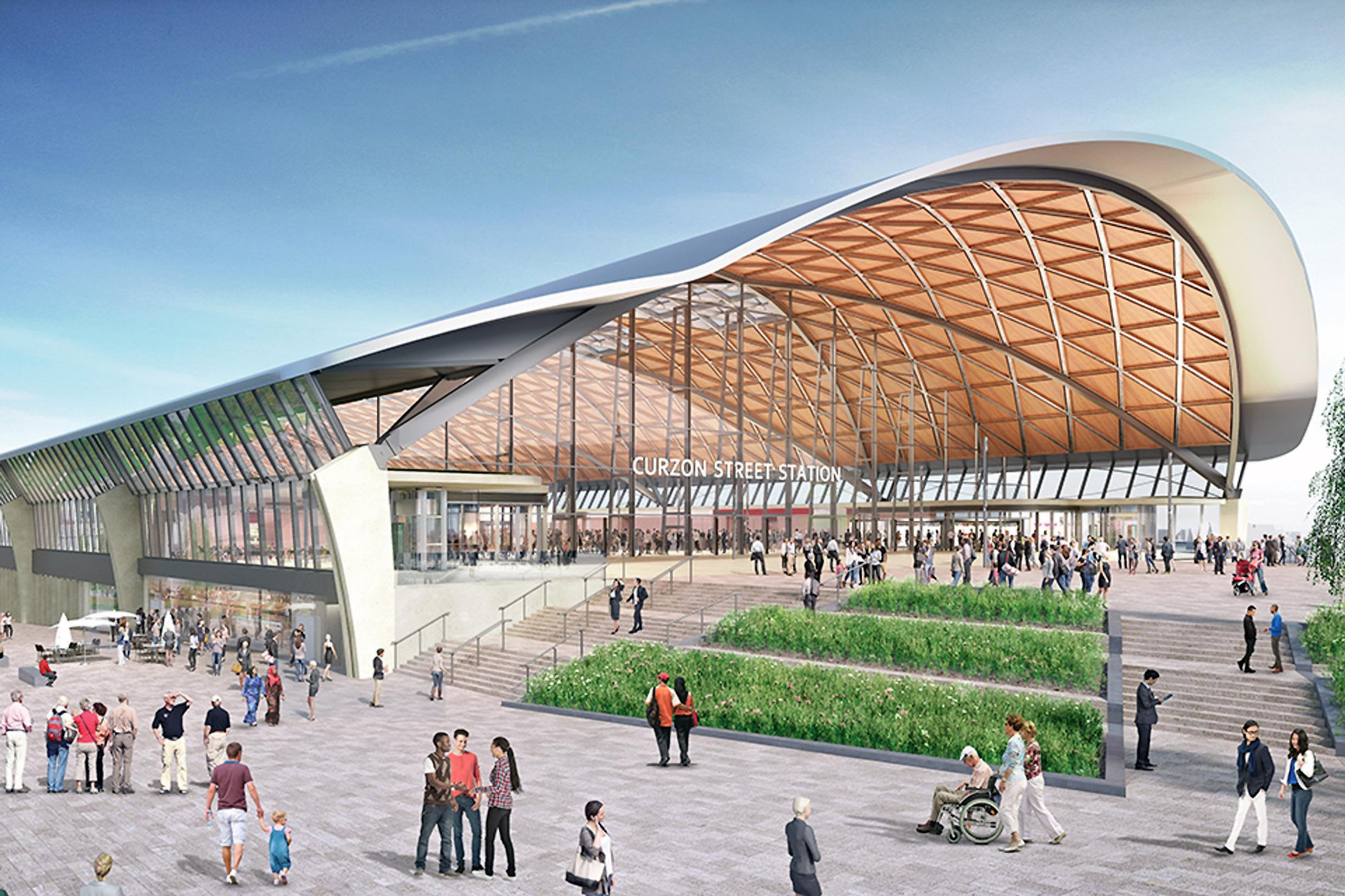 HS2 could change land values for 'over a century'