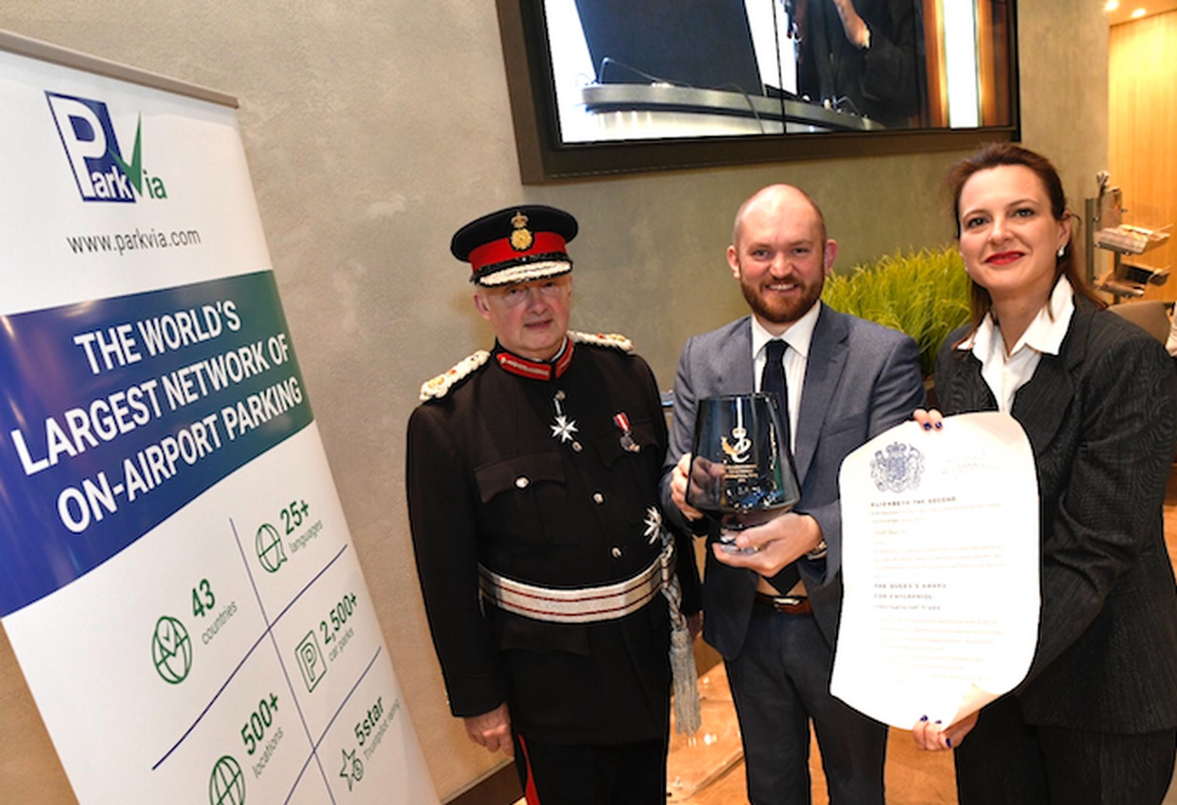 ParkVia receives second Queen's Award