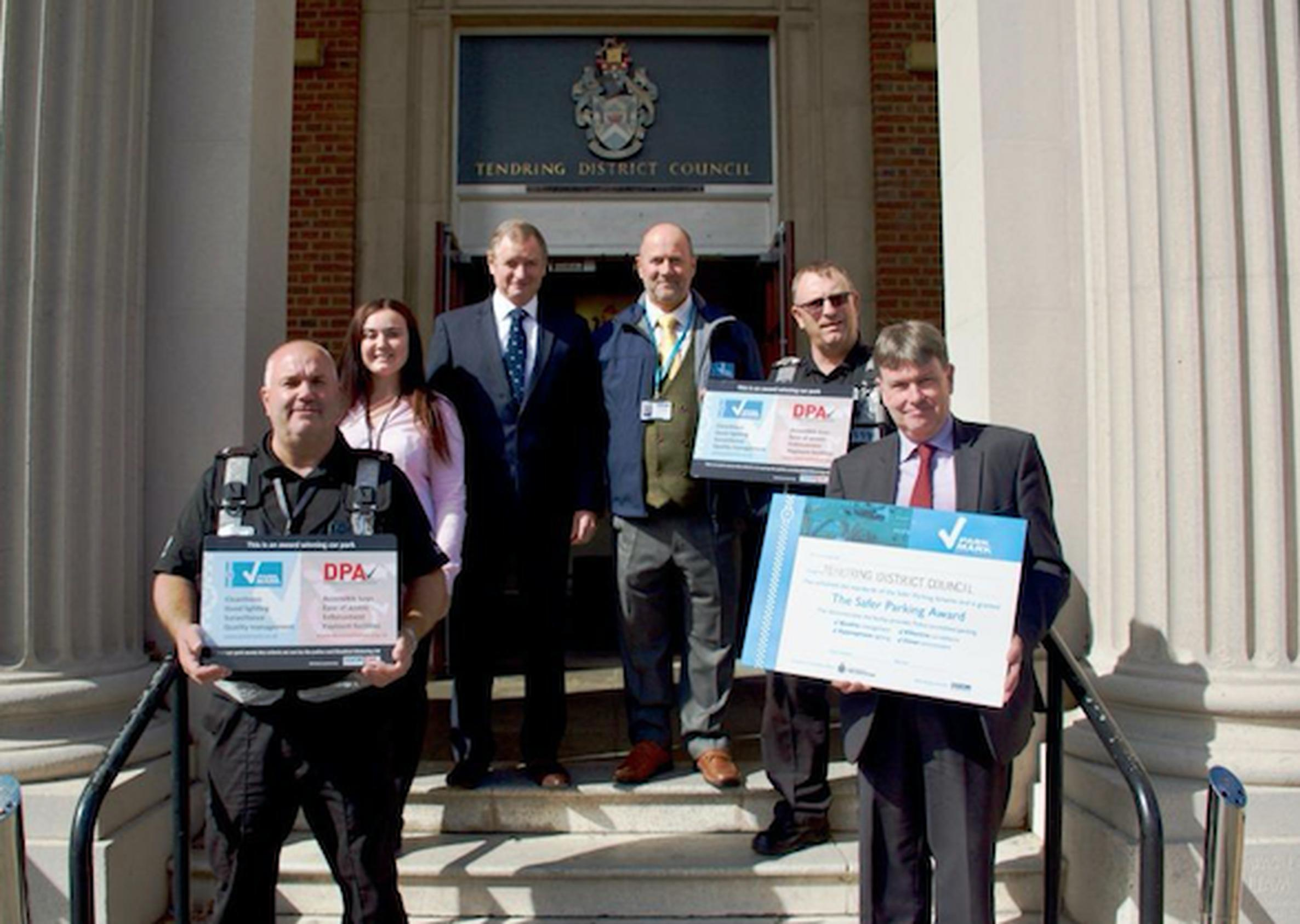 Tendring goes extra mile for disabled motorists