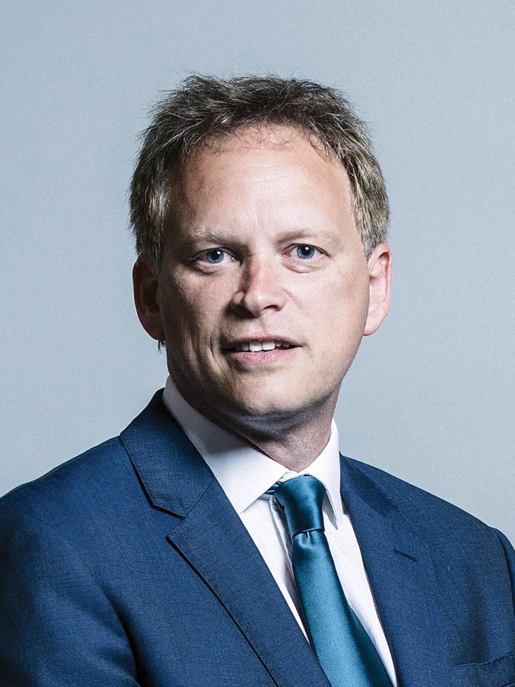 Shapps: wants pension funds in rail