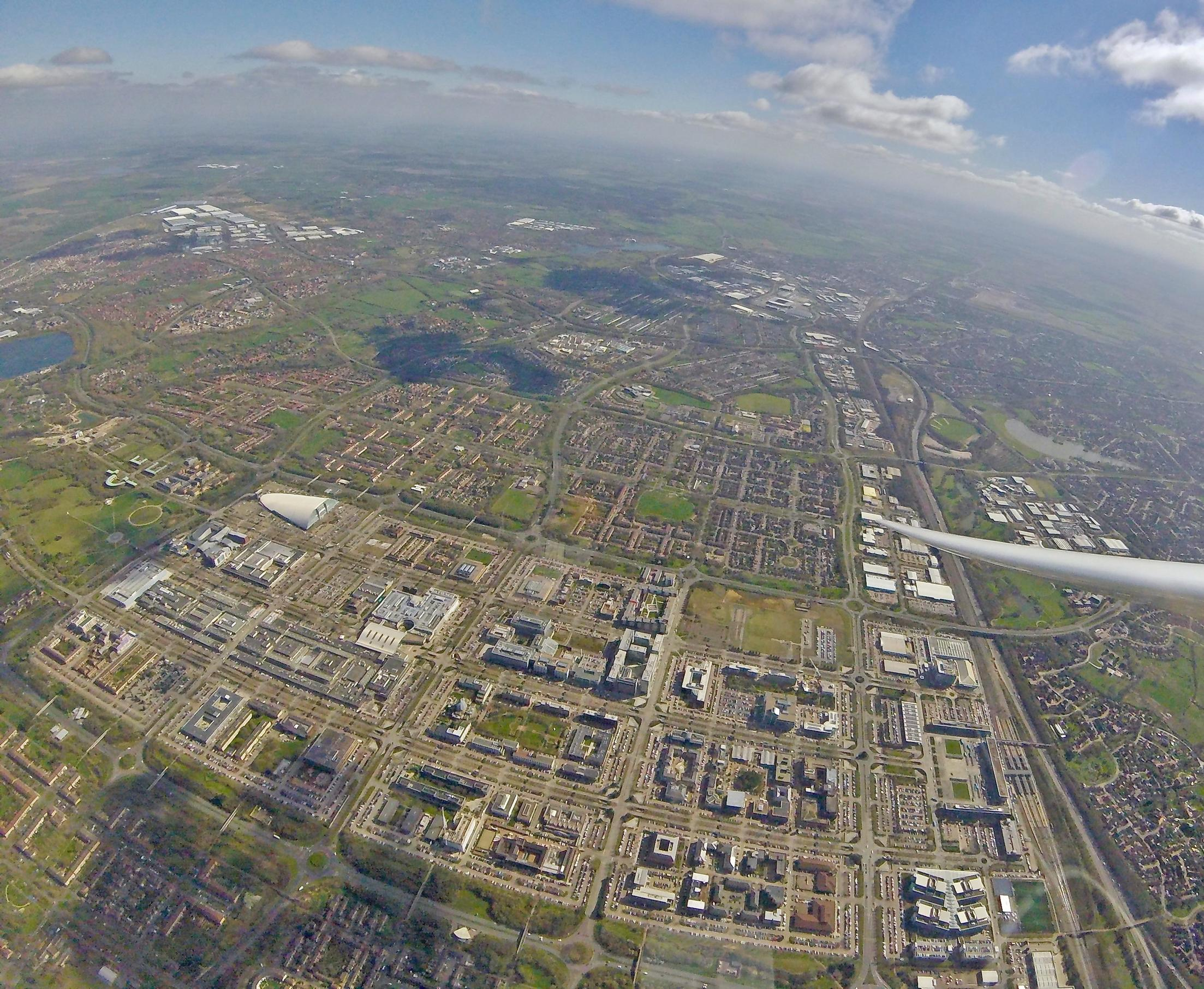 Milton Keynes: masterminded by a development corporation