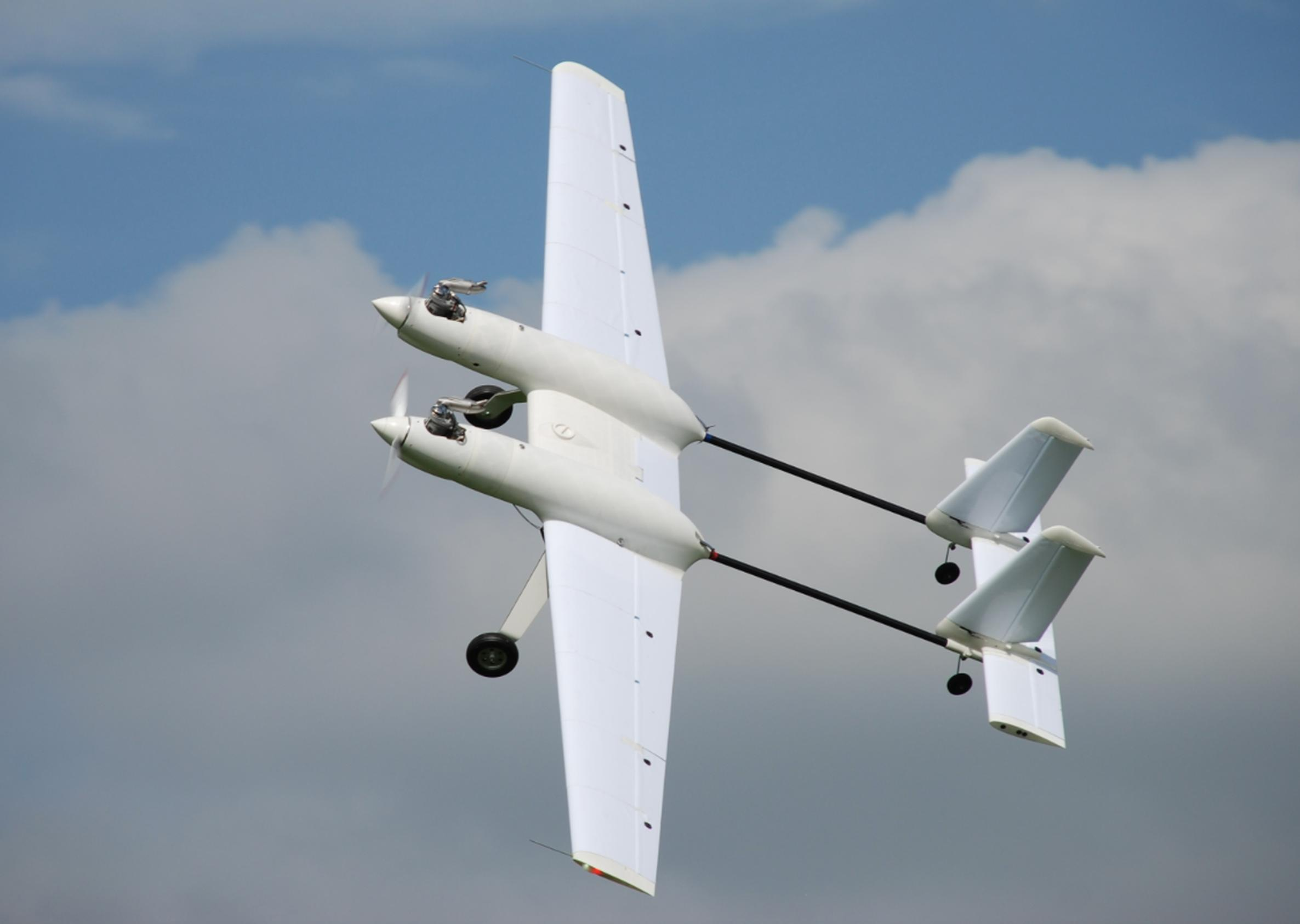 The Spotter fixed wing unmanned aerial vehicle (UAV)